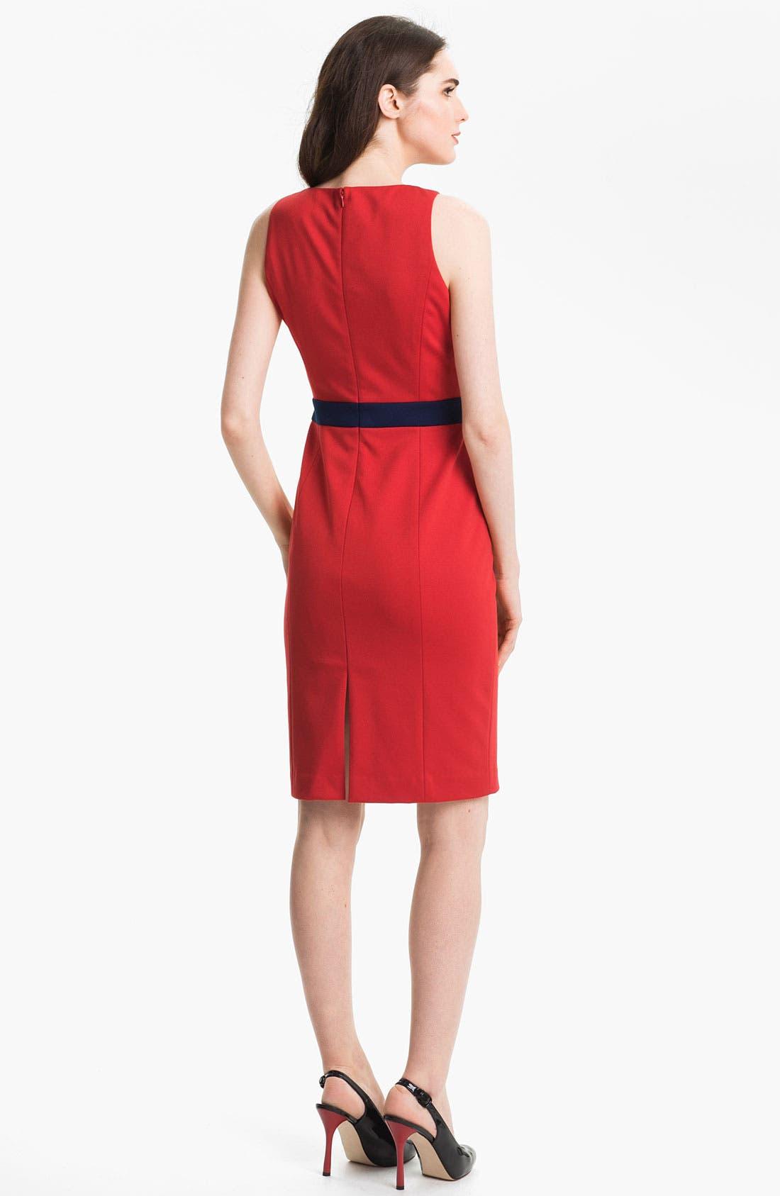 Alternate Image 2  - Anne Klein Colorblock Shift Dress