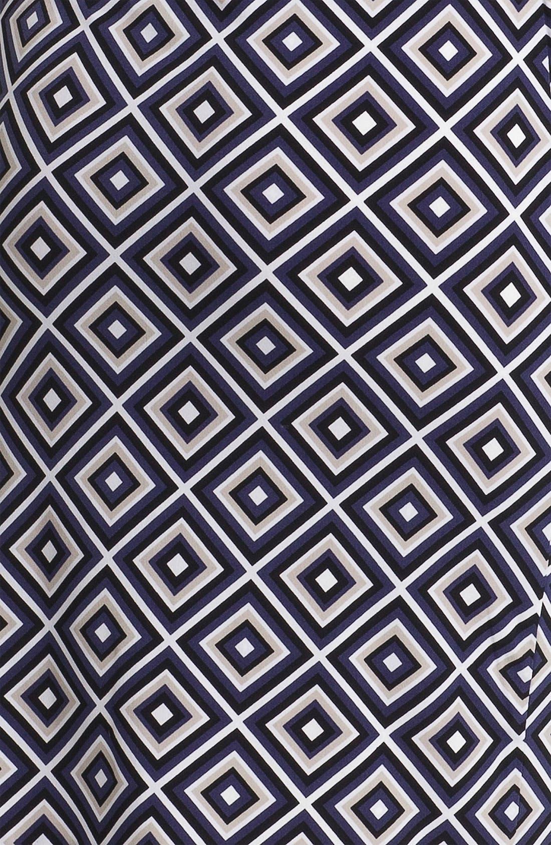 Alternate Image 3  - Anne Klein Diamond Print Dress