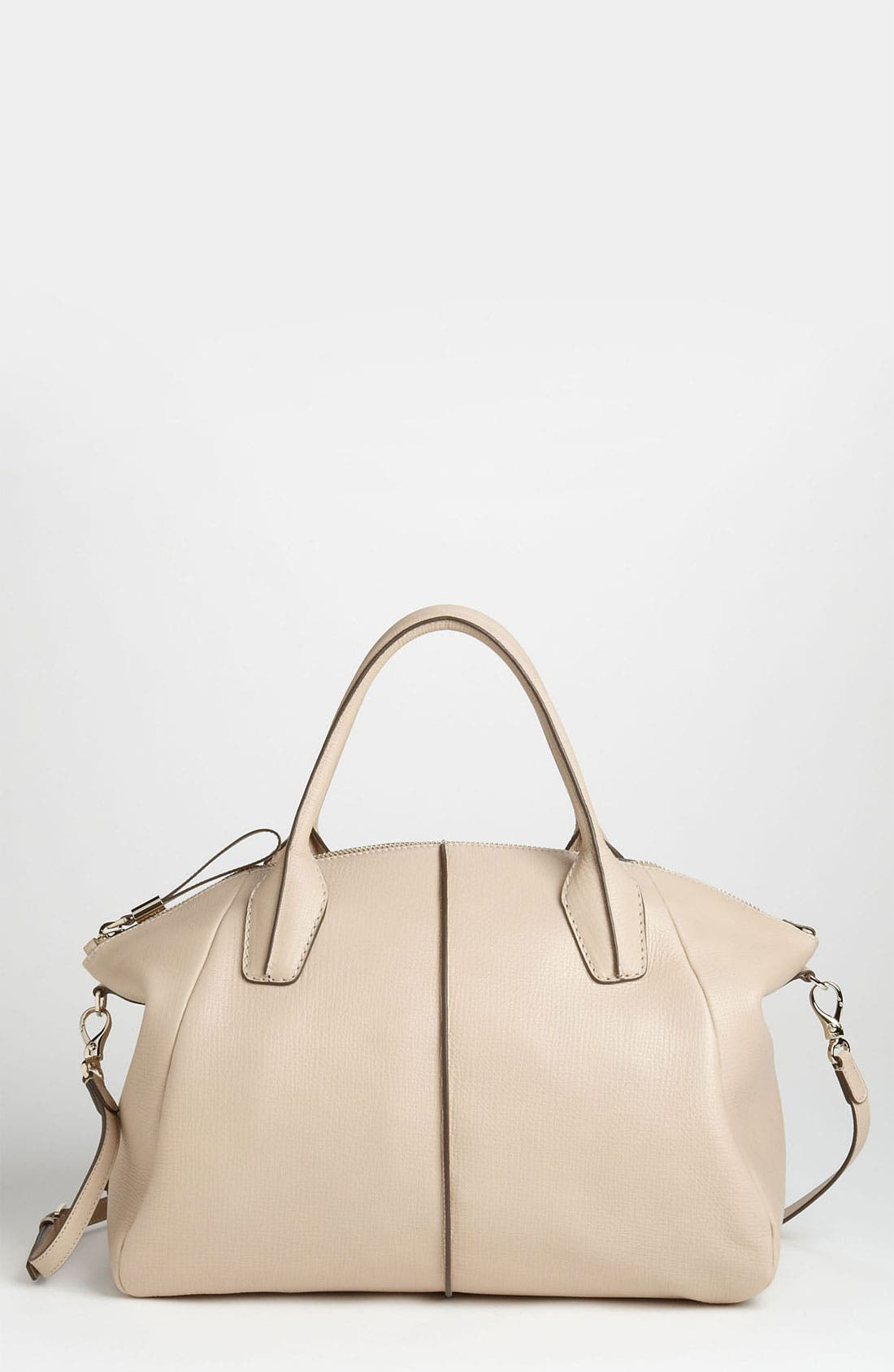 Alternate Image 1 Selected - Tod's 'New D-Styling' Leather Shopper