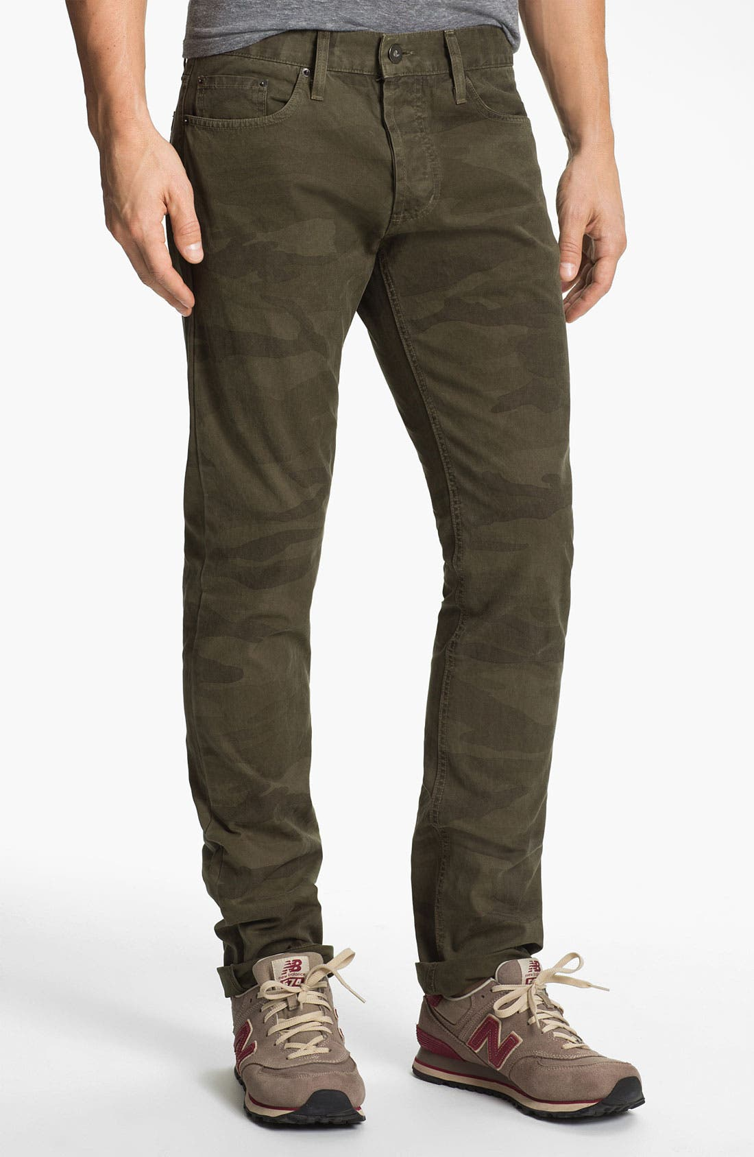 Alternate Image 1 Selected - Splendid Mills 'Renegade' Slim Straight Leg Jeans (Trooper)