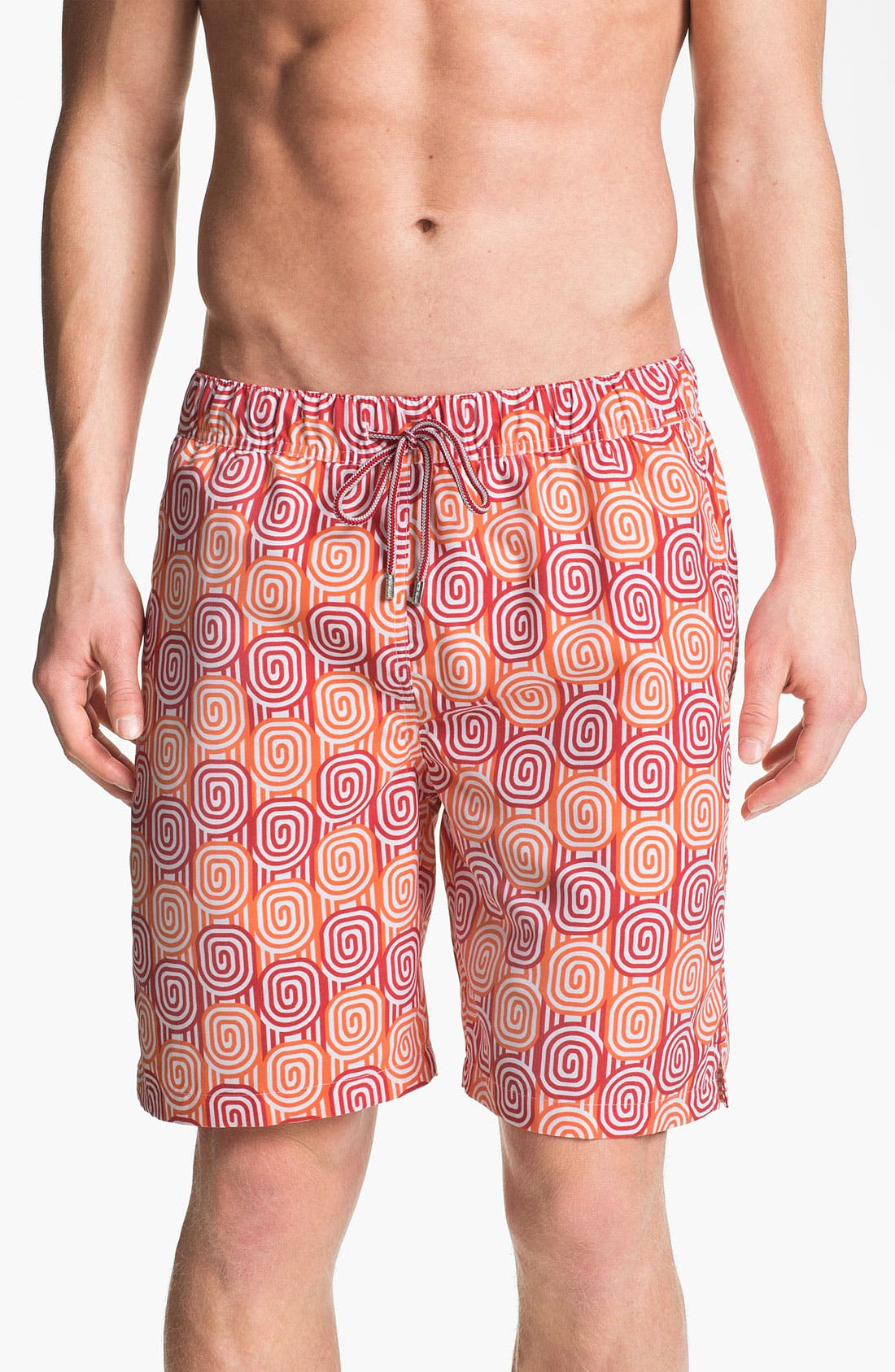 Alternate Image 1 Selected - Peter Millar 'Montecito' Swim Trunks