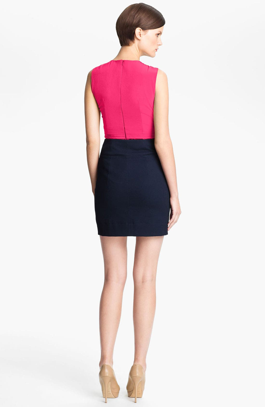 Alternate Image 3  - Carven Wrap Front Peplum Top