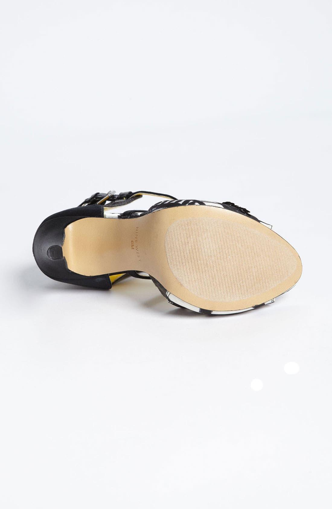 Alternate Image 4  - Nine West 'Jule' Sandal