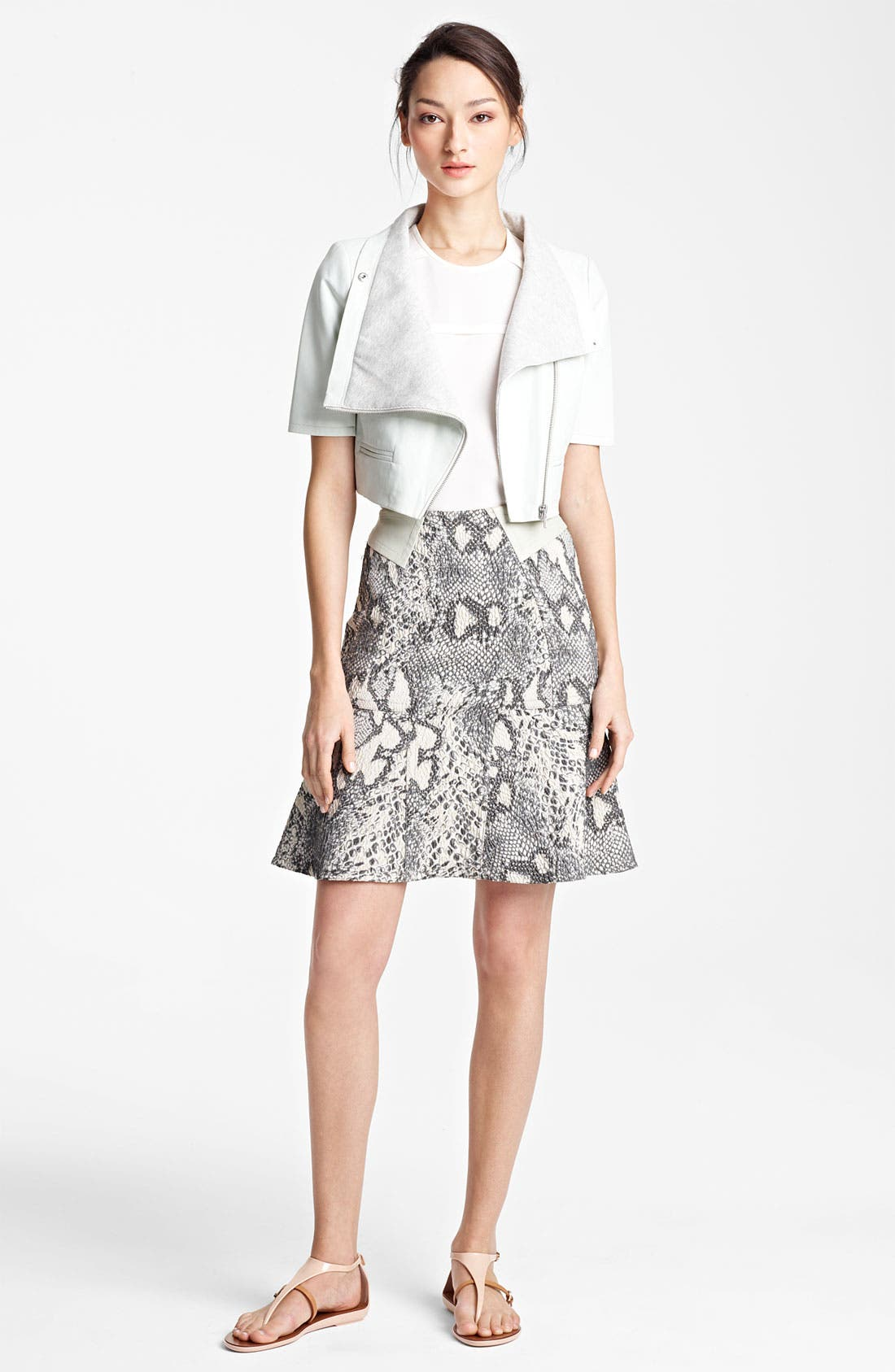 Alternate Image 2  - Yigal Azrouël Jacquard Skirt
