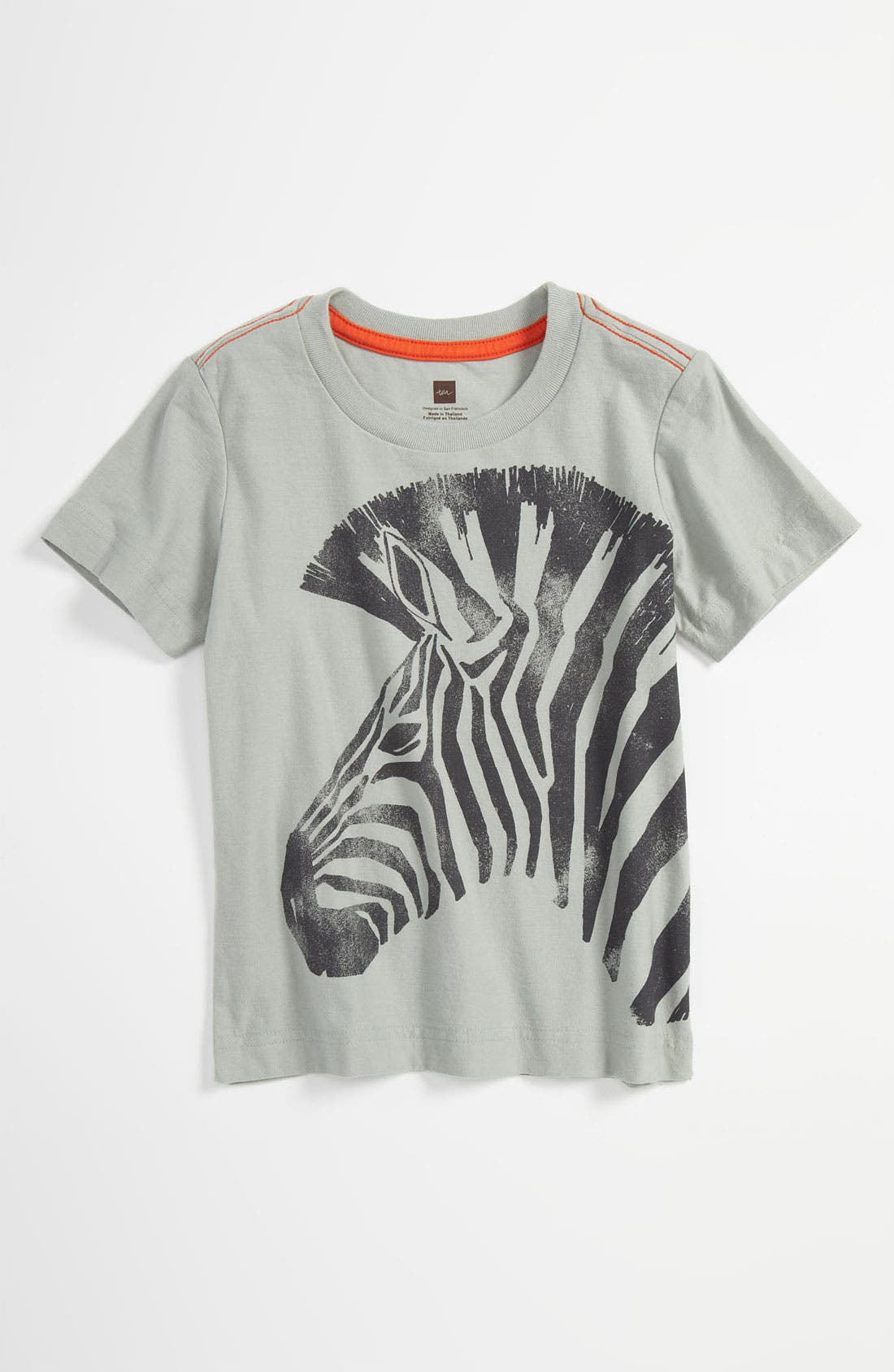 Alternate Image 1 Selected - Tea Collection 'Zebra' T-Shirt (Toddler)