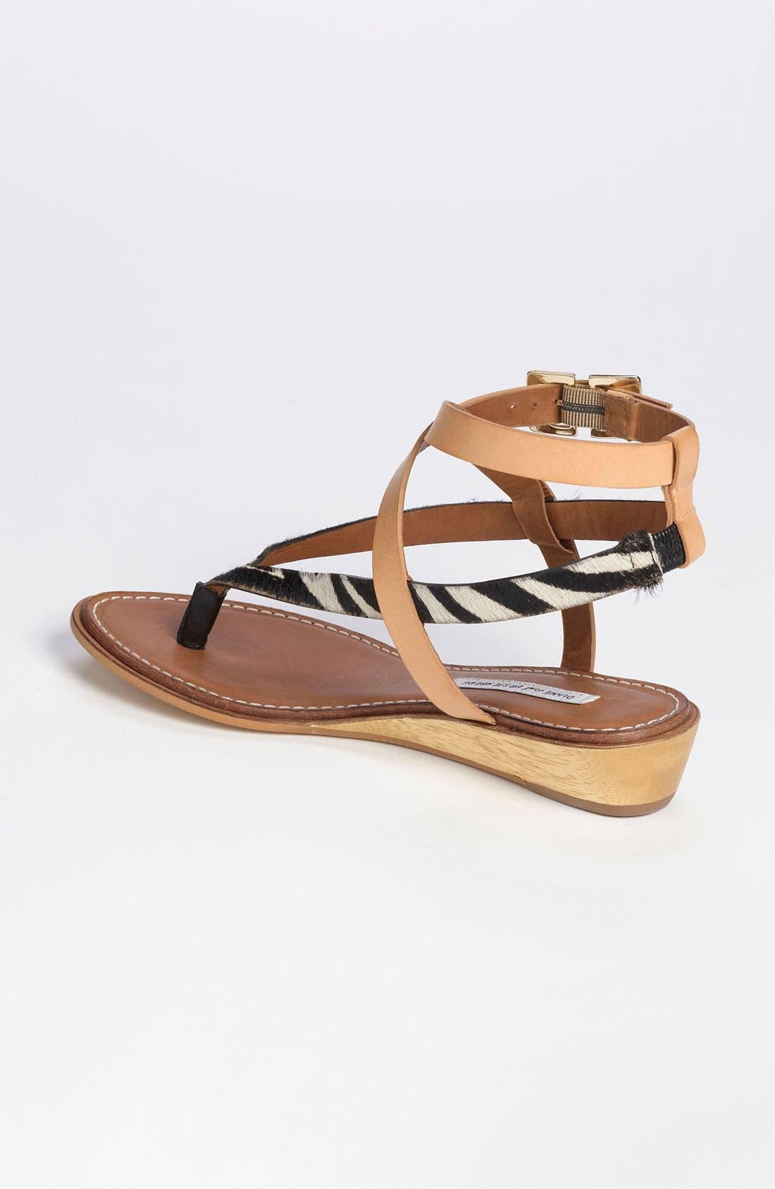 Alternate Image 2  - Diane von Furstenberg 'Dottie' Sandal (Online Only)
