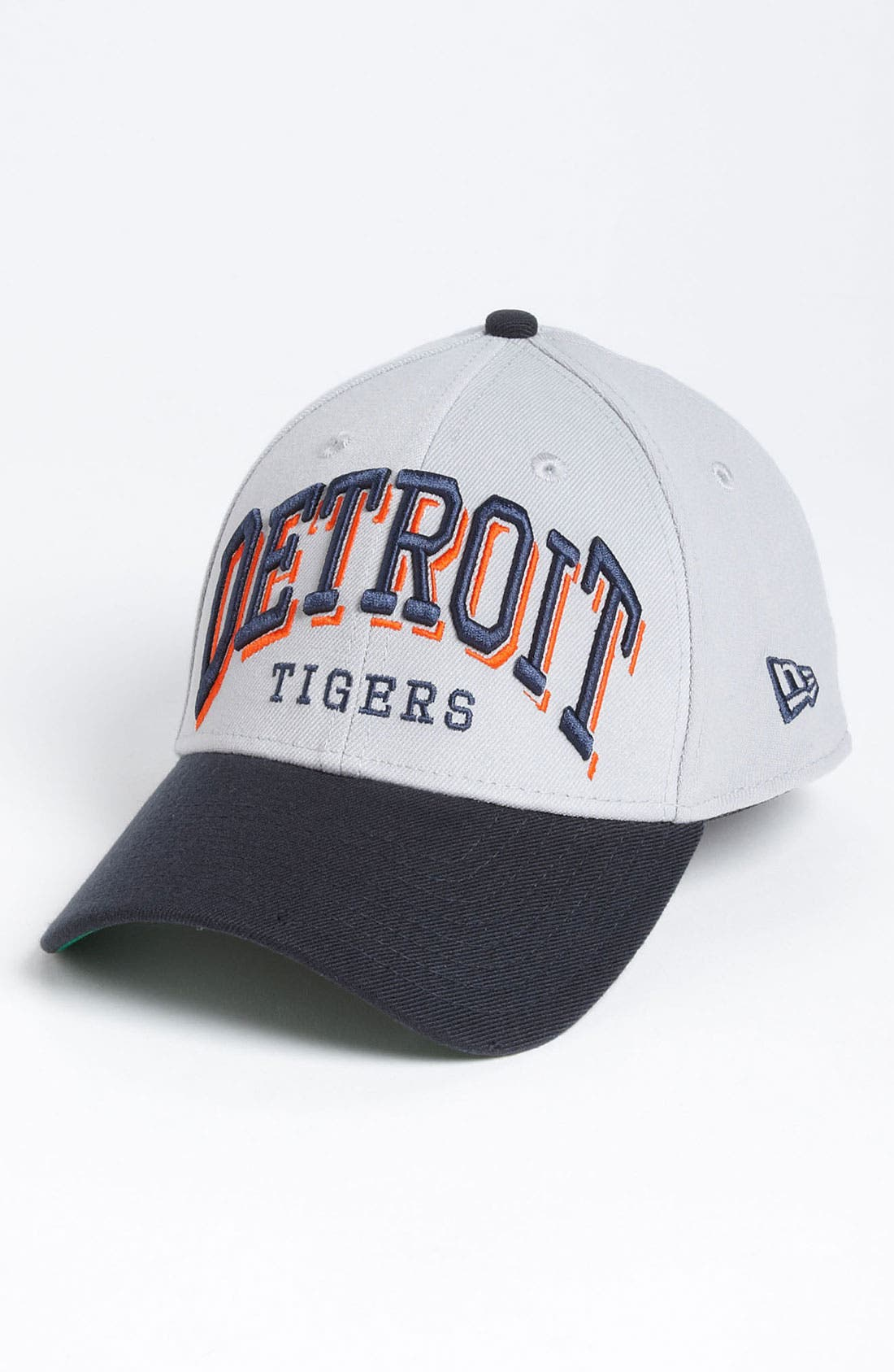 Alternate Image 1 Selected - New Era Cap 'Detroit Tigers - Arch Mark' Fitted Baseball Cap