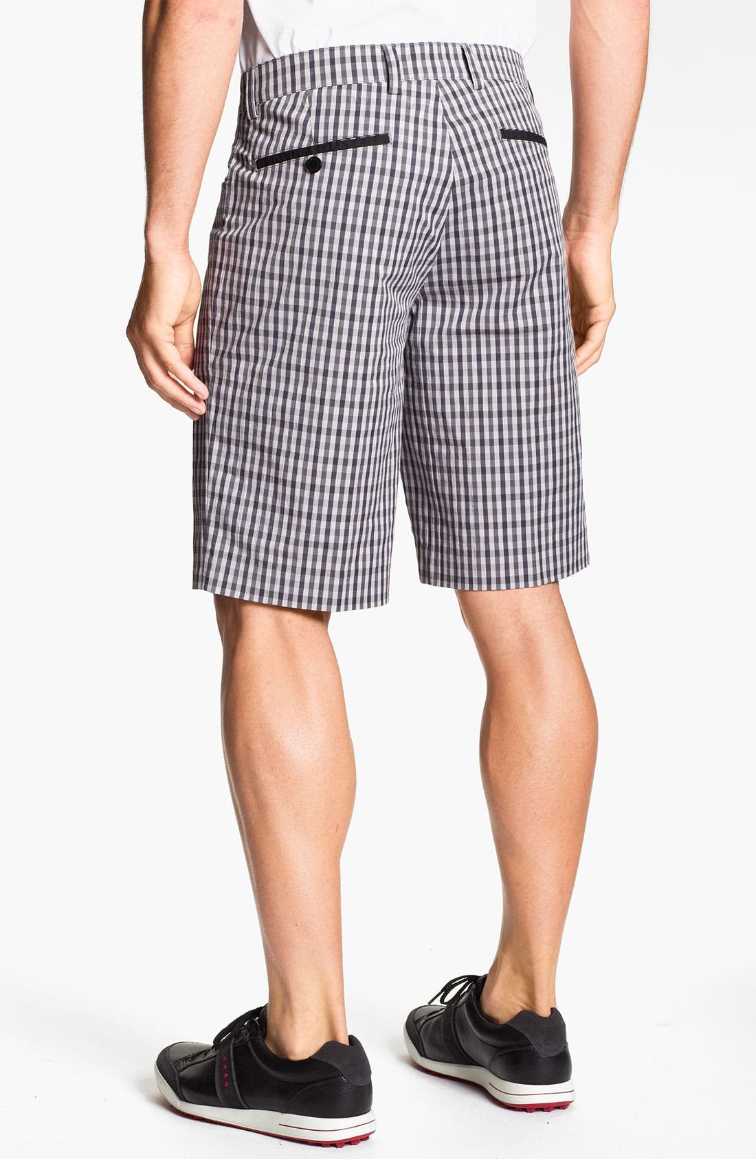 Alternate Image 2  - Aquascutum Golf 'Sport Check' Golf Shorts