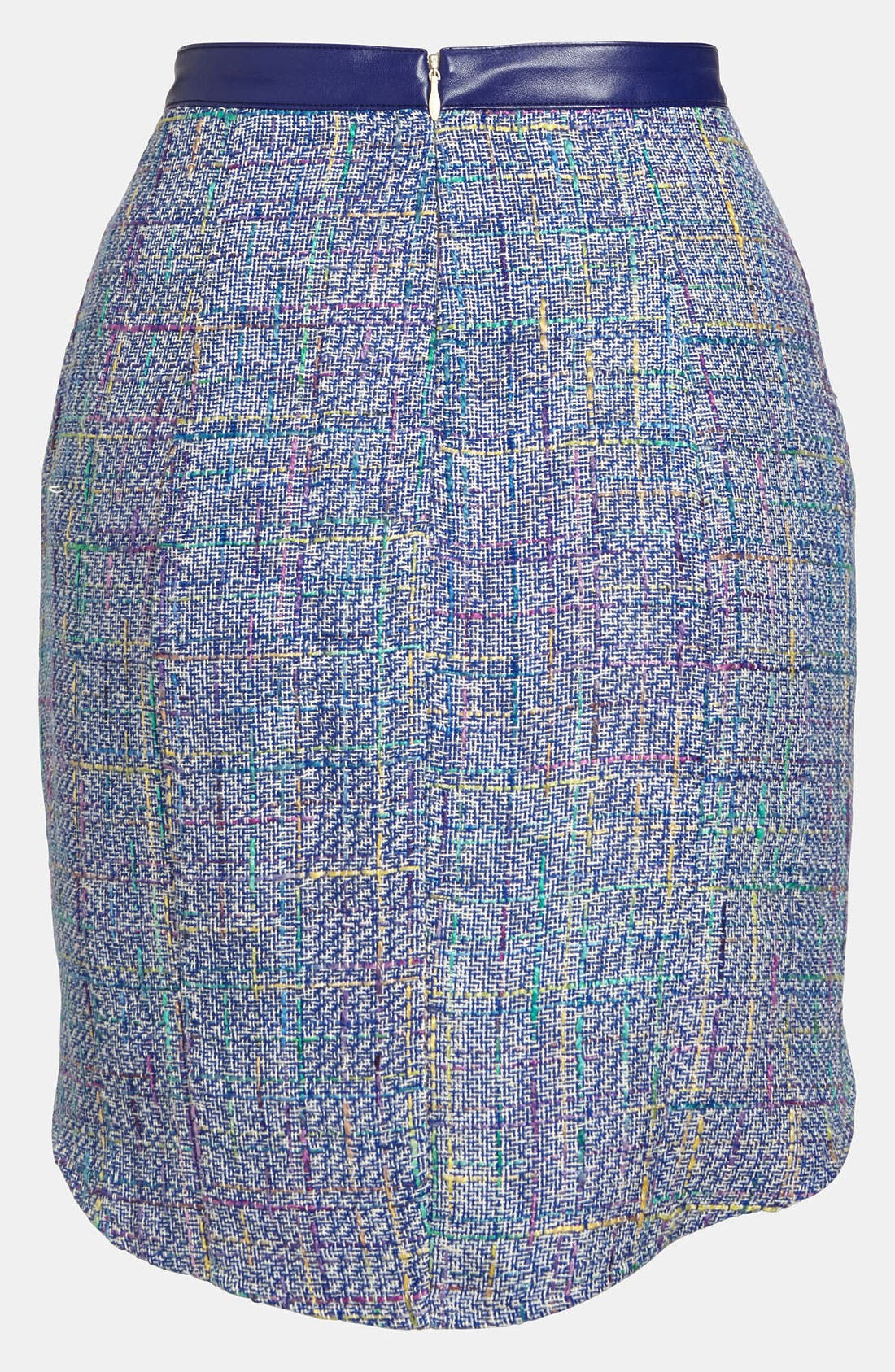 Alternate Image 2  - ASTR High/Low Tweed Skirt