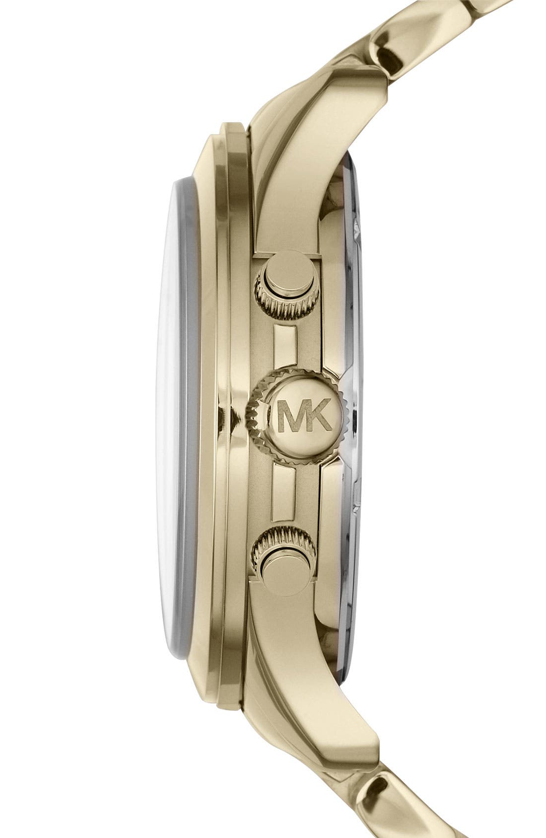 Alternate Image 2  - Michael Kors 'Runway' Chronograph Bracelet Watch, 38mm