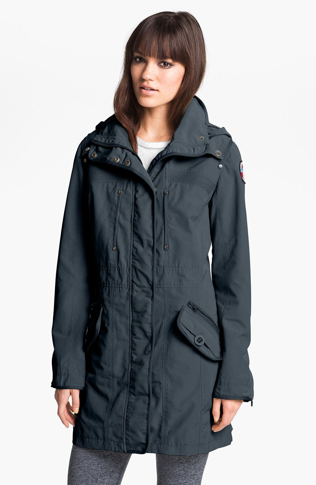 Alternate Image 1 Selected - Pajar Long Jacket with Detachable Hood