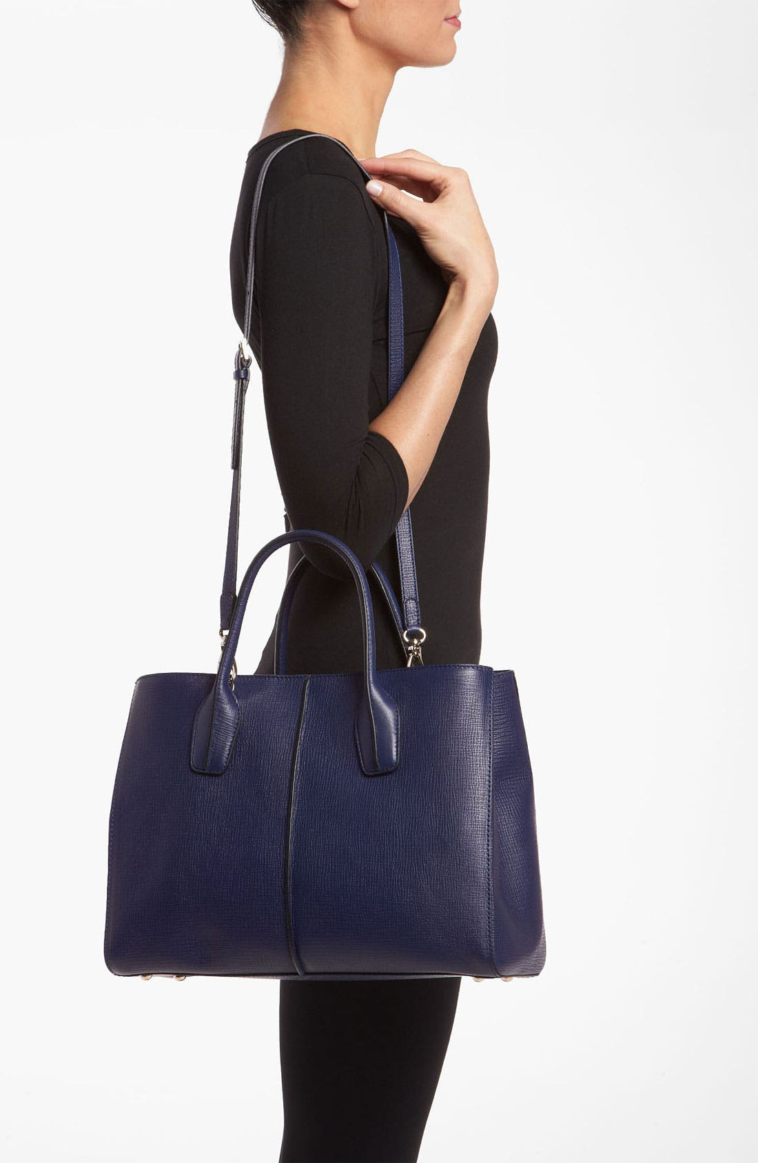 Alternate Image 2  - Tod's 'D-Styling - Medium' Leather Shopper