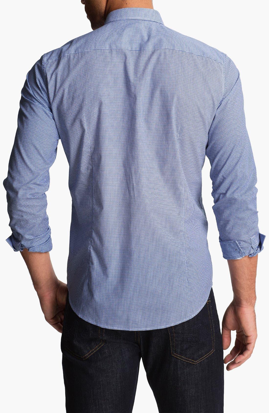 Alternate Image 2  - BOSS Black 'Remus' Slim Fit Sport Shirt