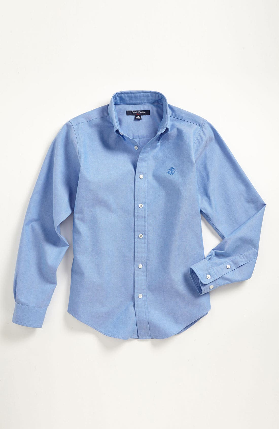Alternate Image 1 Selected - Brooks Brothers Oxford Sport Shirt (Big Boys)