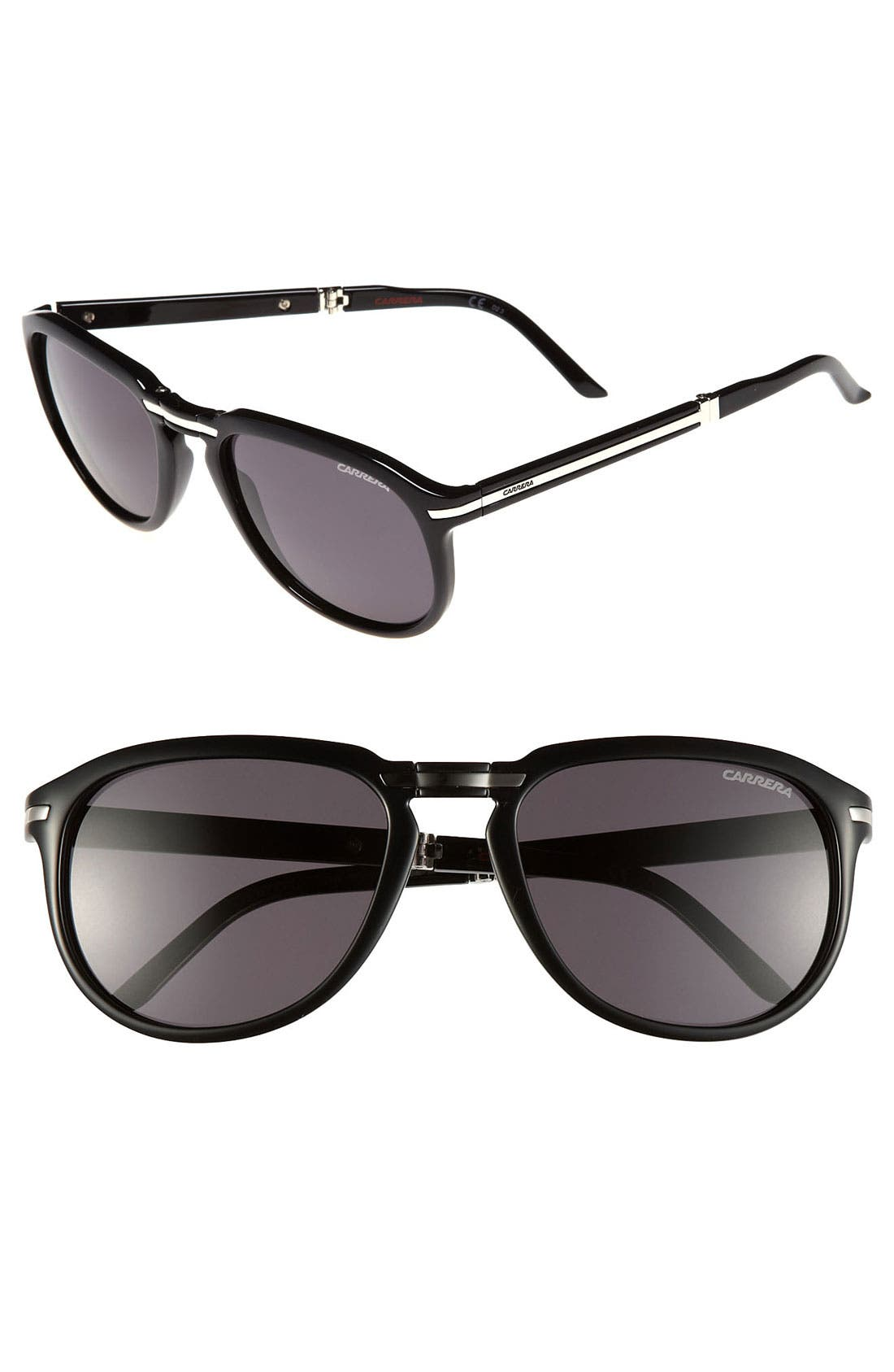 Alternate Image 1 Selected - Carrera Eyewear 'Pocked Flag' 54 mm Foldable Sunglasses