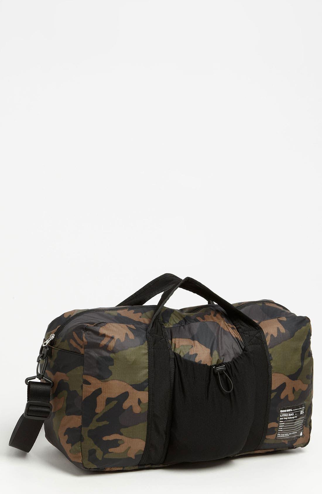 Alternate Image 1 Selected - DIESEL® 'Litro' Duffle Bag