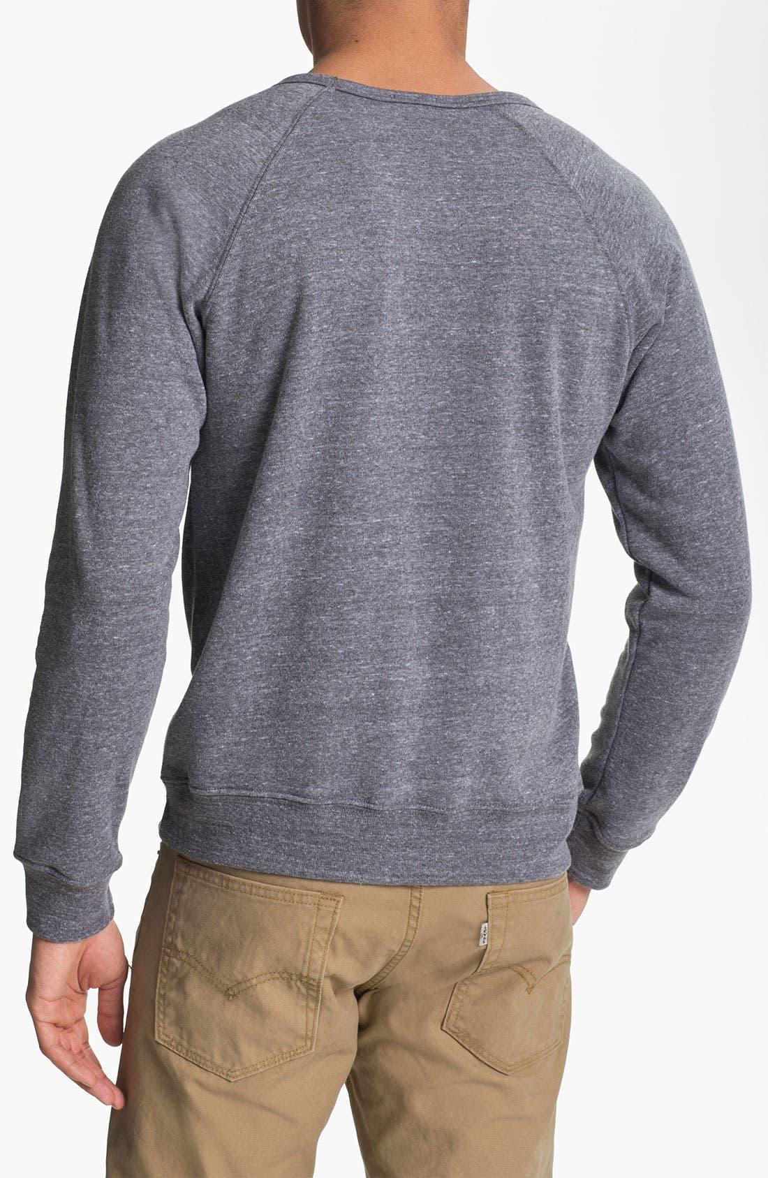 Alternate Image 2  - Obey 'Oh Boy' Graphic Crewneck Sweatshirt