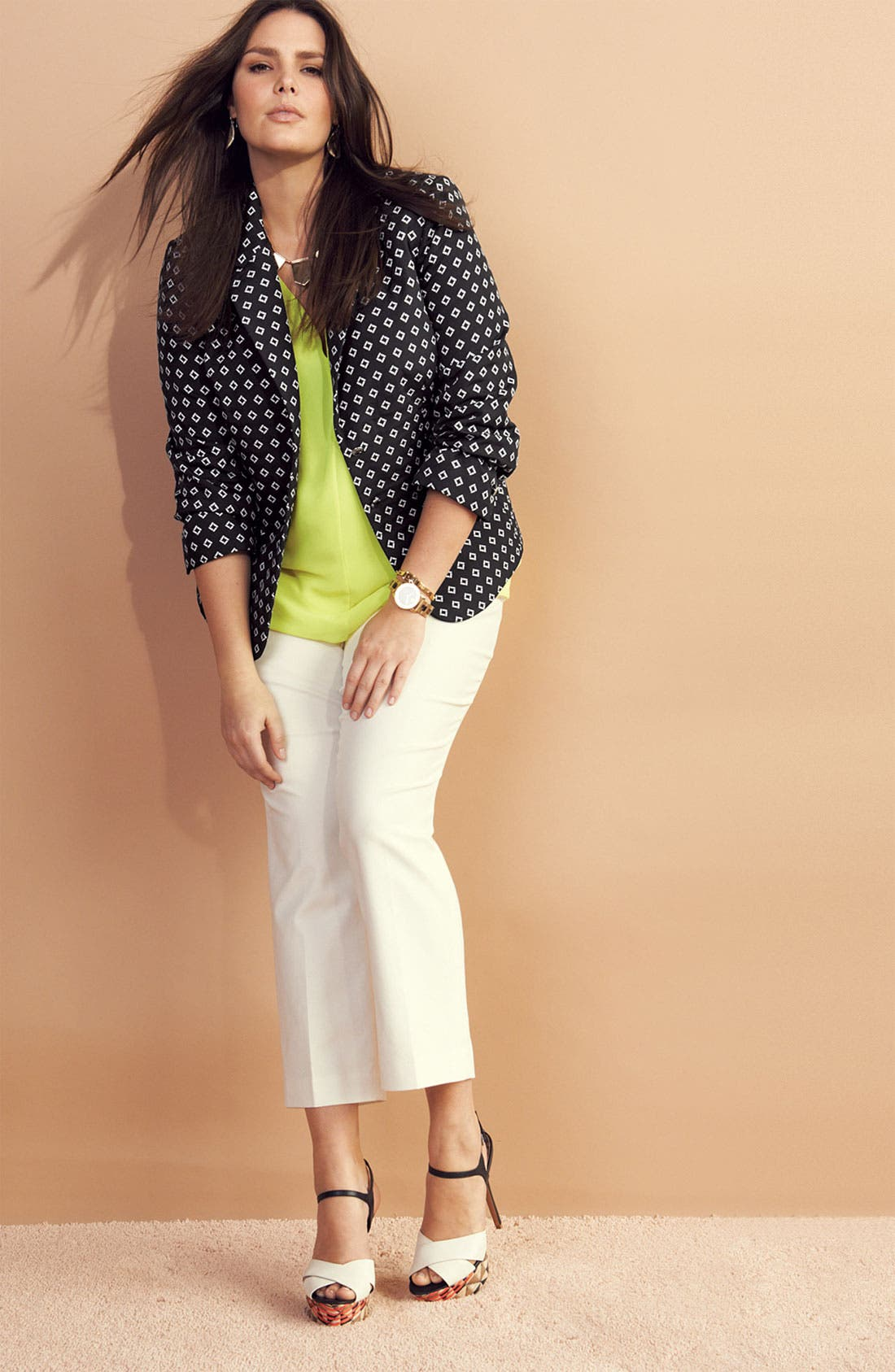 Alternate Image 3  - Vince Camuto Ankle Pants (Plus Size)