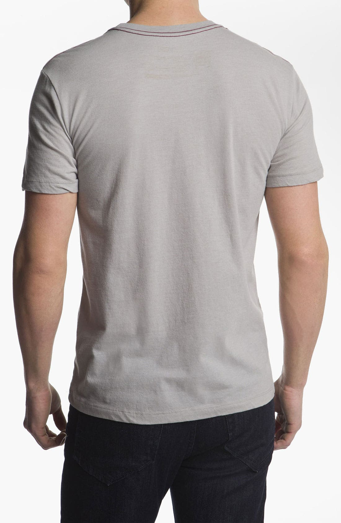 Alternate Image 2  - RVCA 'Skull Flag' T-Shirt