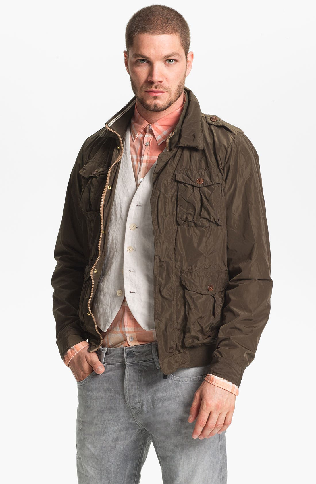 Alternate Image 1 Selected - Scotch & Soda Military Jacket