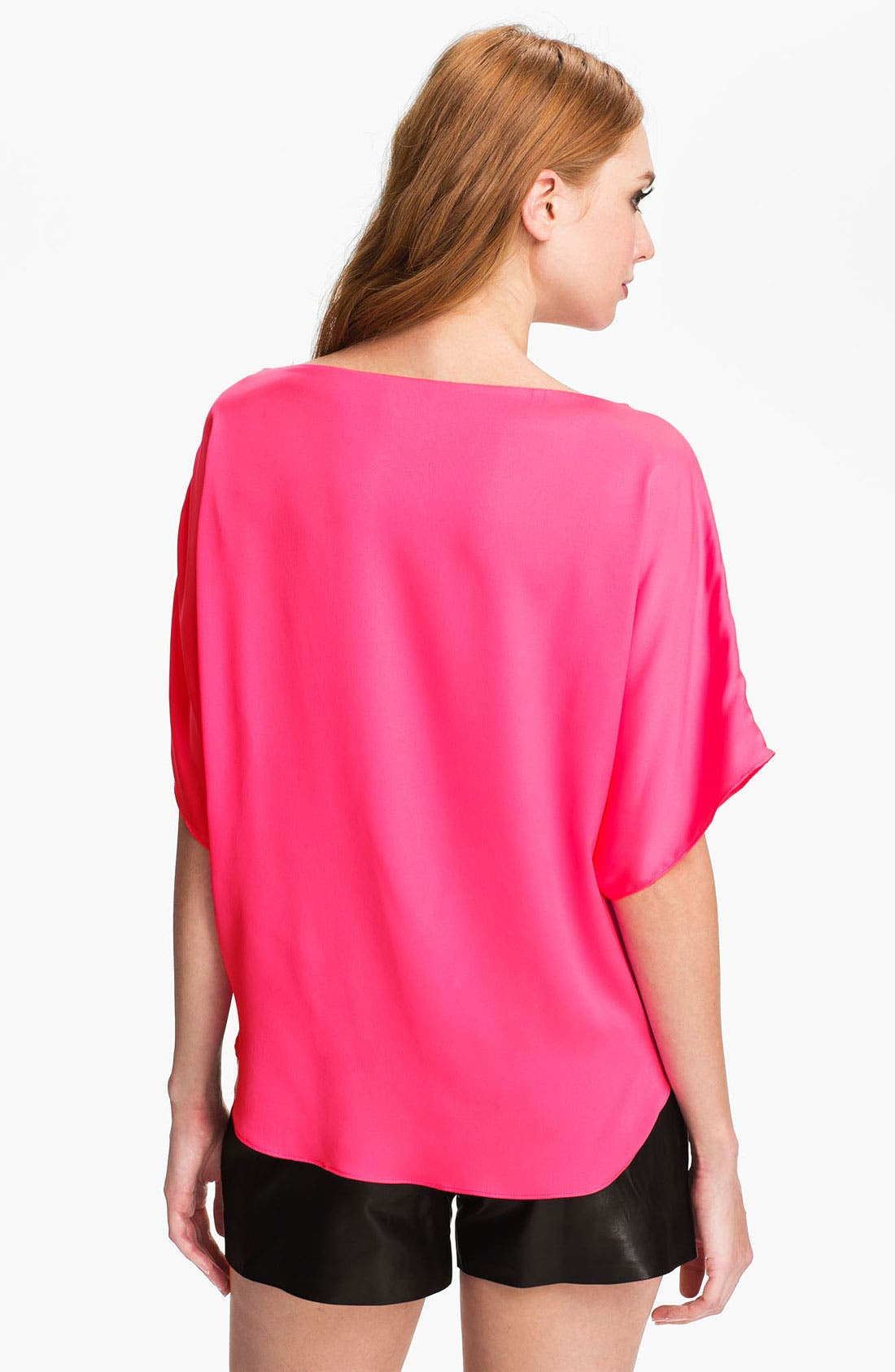 Alternate Image 2  - Milly Stretch Silk Top