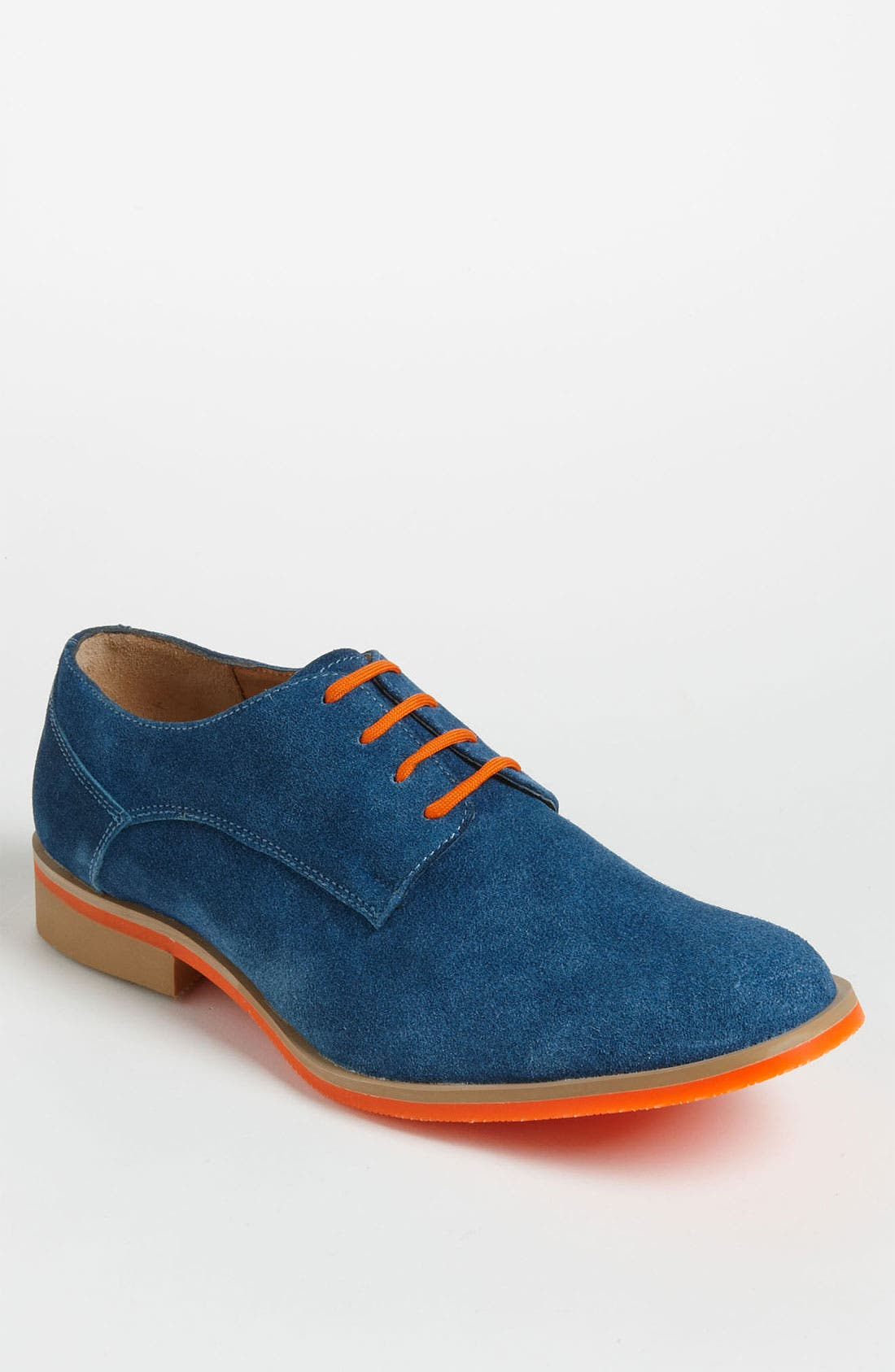 Alternate Image 1 Selected - J.D. Fisk 'Callum' Suede Buck Shoe
