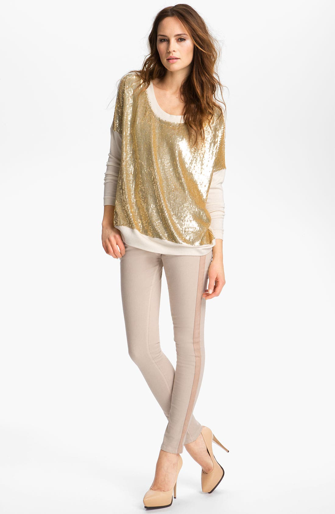 Alternate Image 1 Selected - Haute Hippie Sequin Pullover