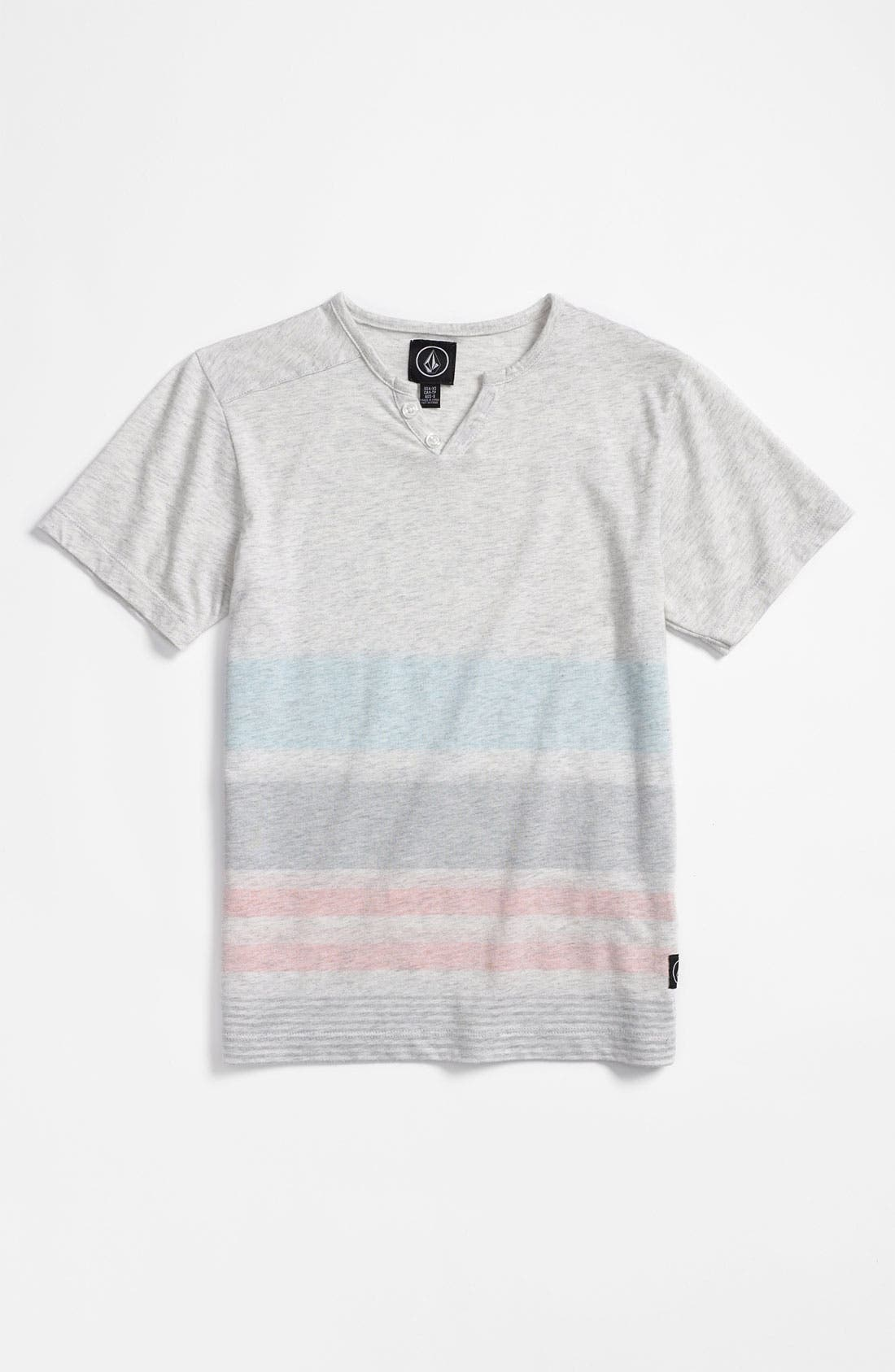 Main Image - Volcom 'Farrell' Henley Shirt (Little Boys)