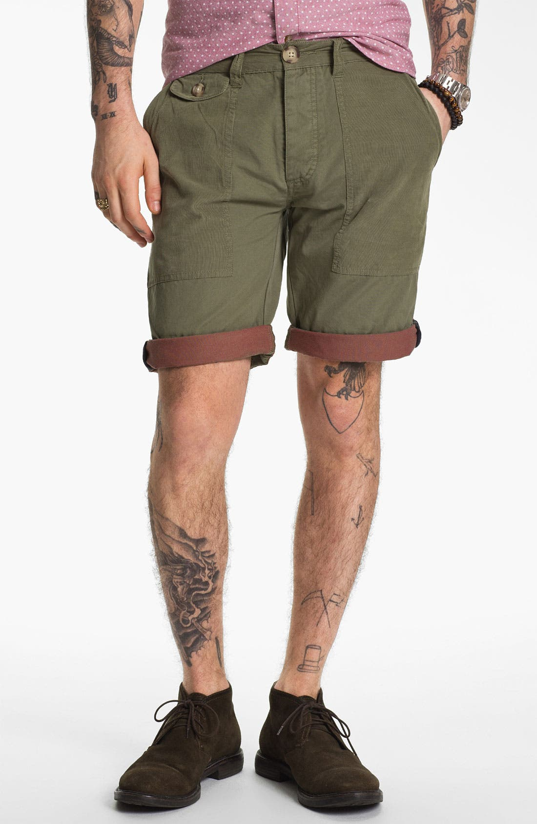 Alternate Image 1 Selected - Zanerobe 'Crocody' Shorts