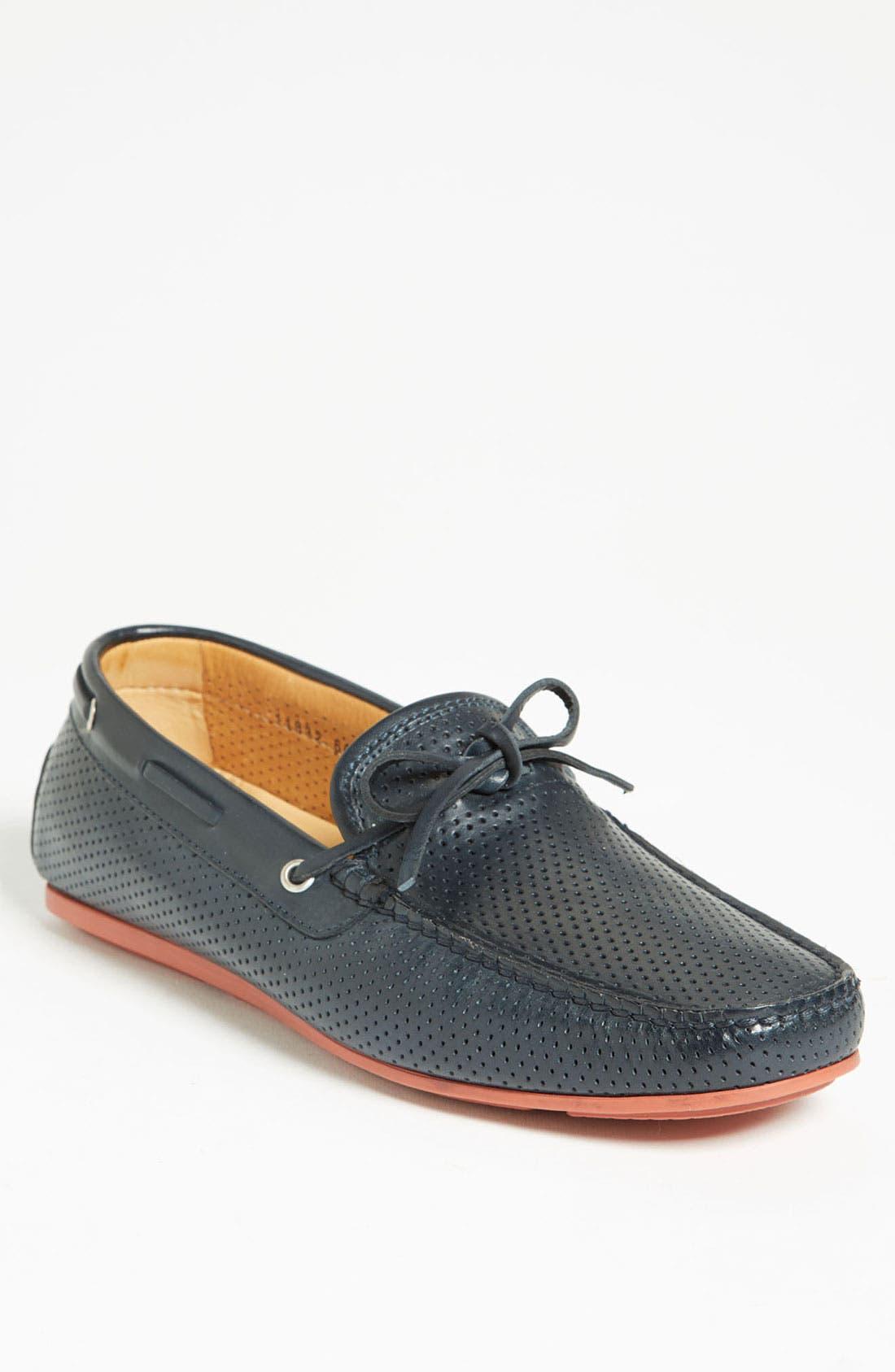 Alternate Image 1 Selected - Santoni 'Toft' Driving Shoe