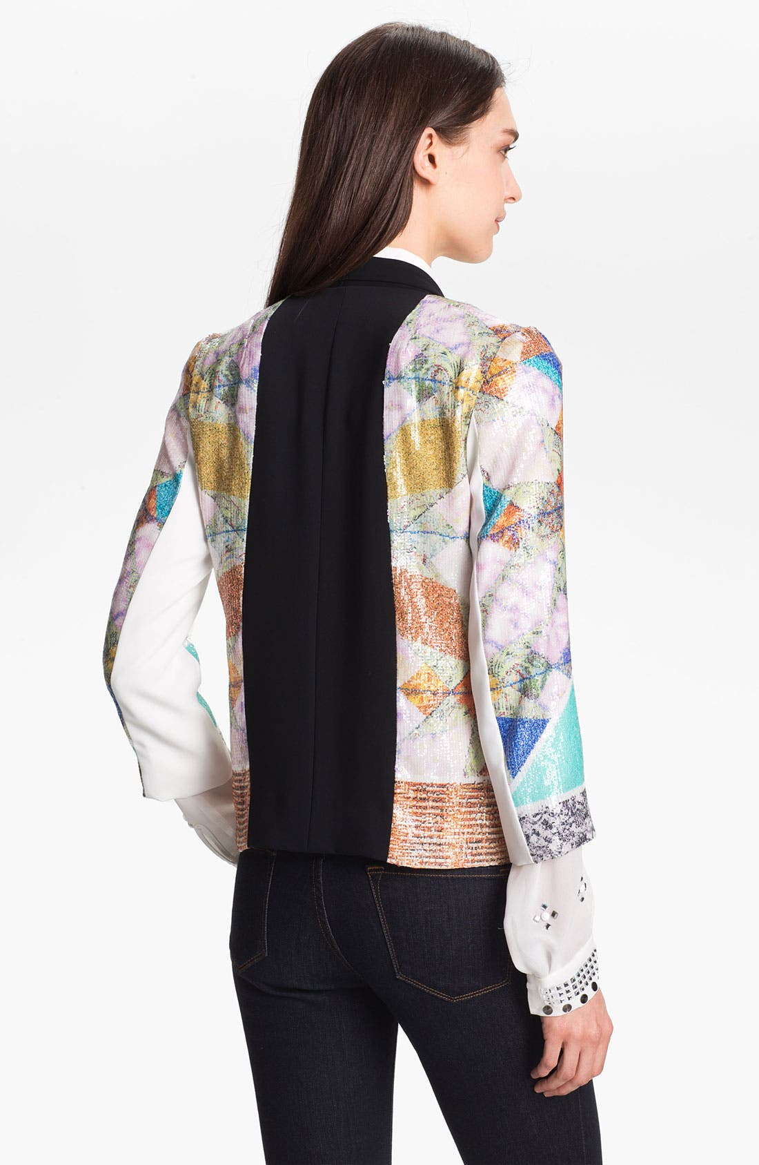 Alternate Image 2  - Clover Canyon 'Roadside Quilt' Sequin Jacket
