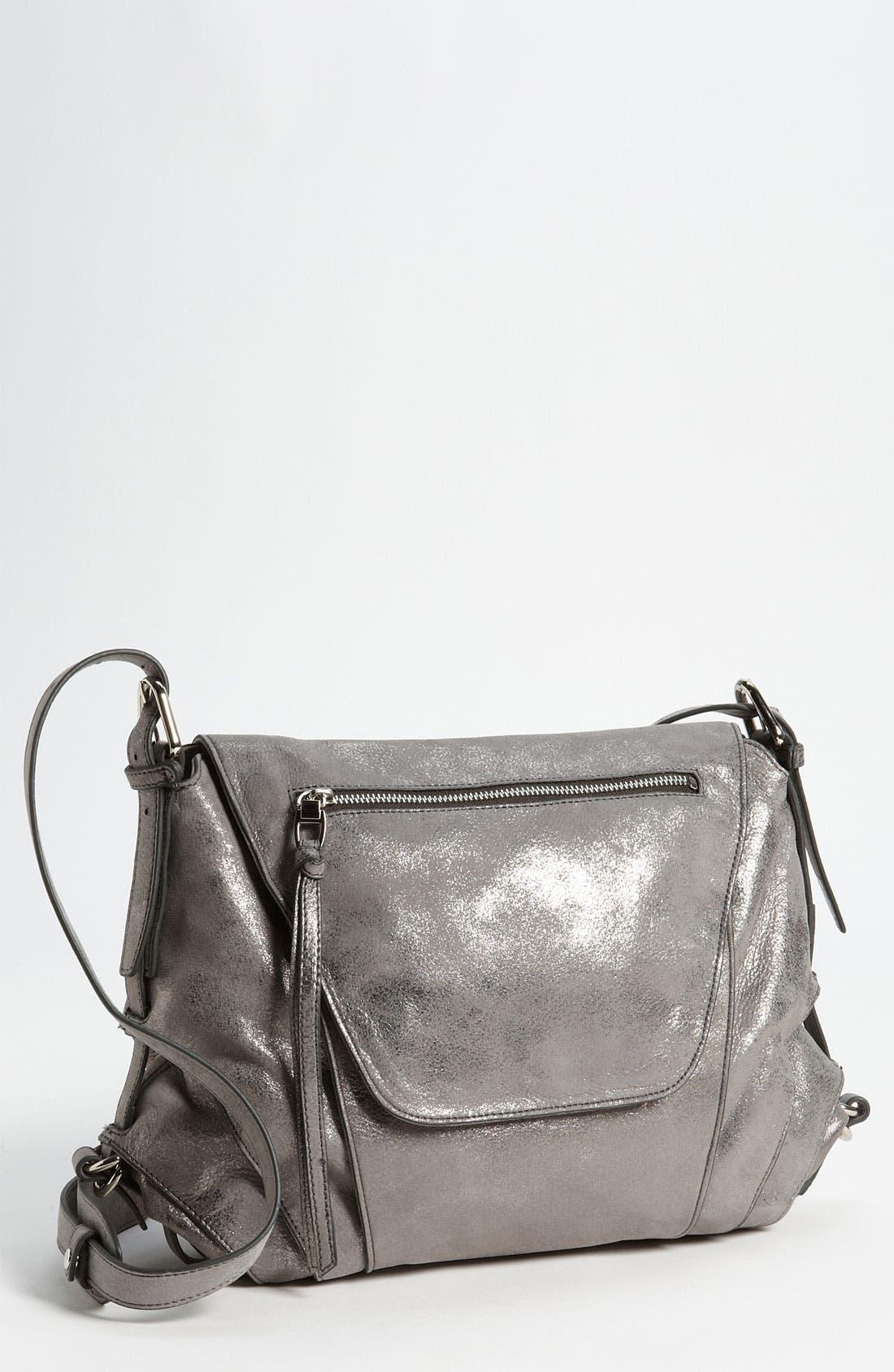 Main Image - Kooba 'Brielle' Glitter Leather Crossbody Bag