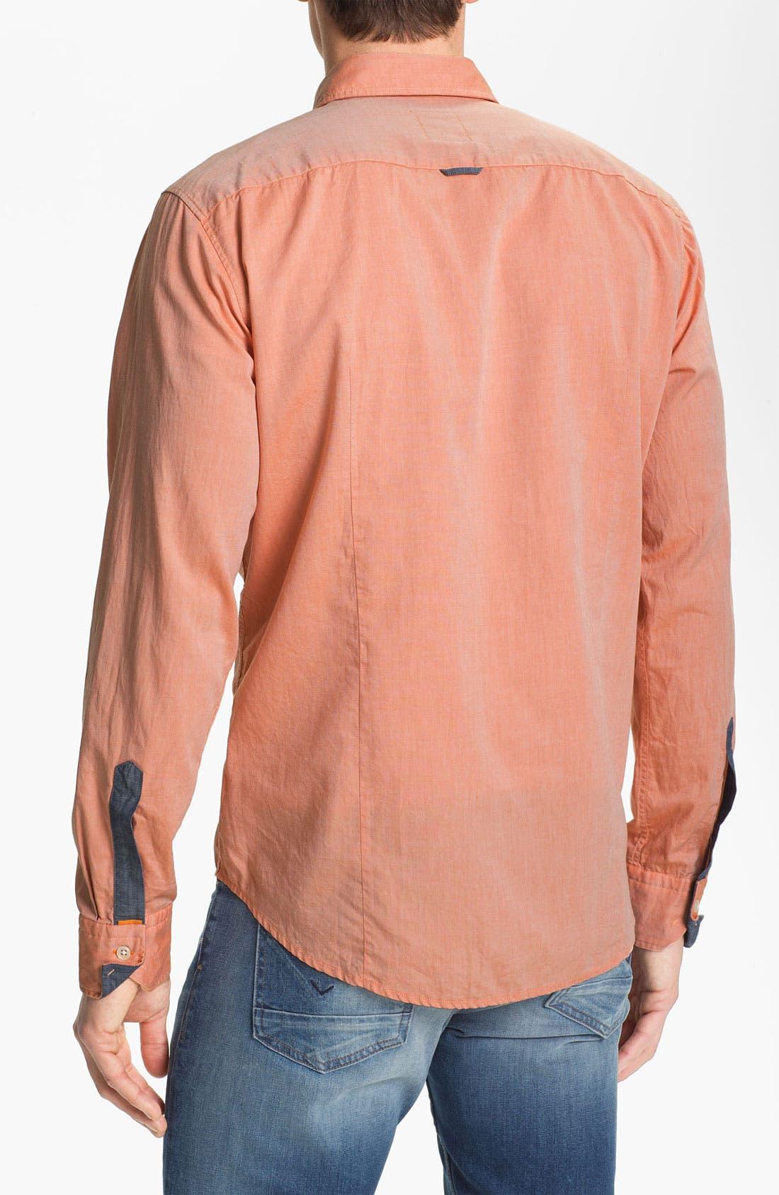 Alternate Image 2  - BOSS Orange Oxford Shirt
