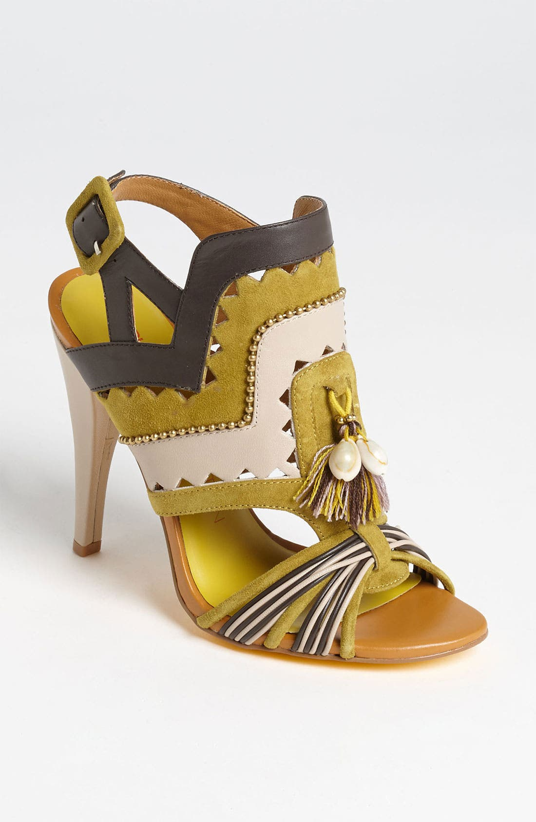 Alternate Image 1 Selected - Blonde Ambition 'Regata' Sandal