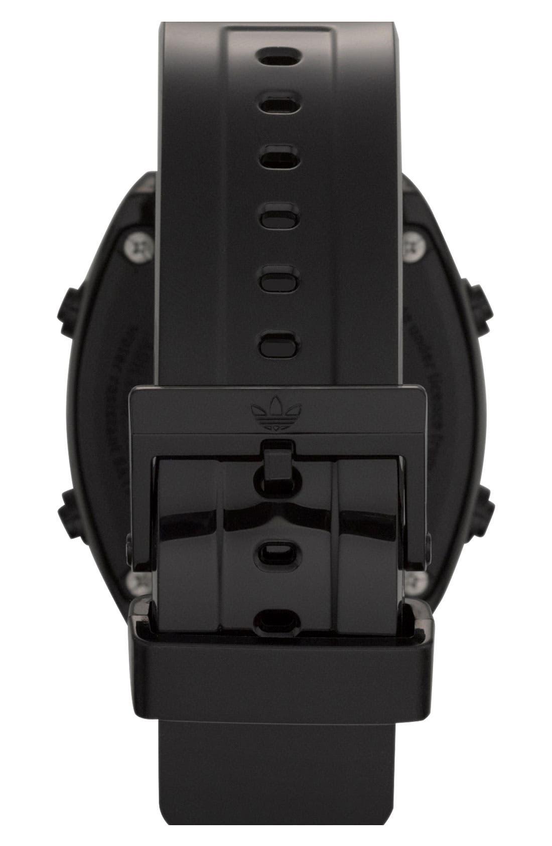 Alternate Image 3  - adidas Originals 'Sydney' Digital Resin Strap Watch, 40mm
