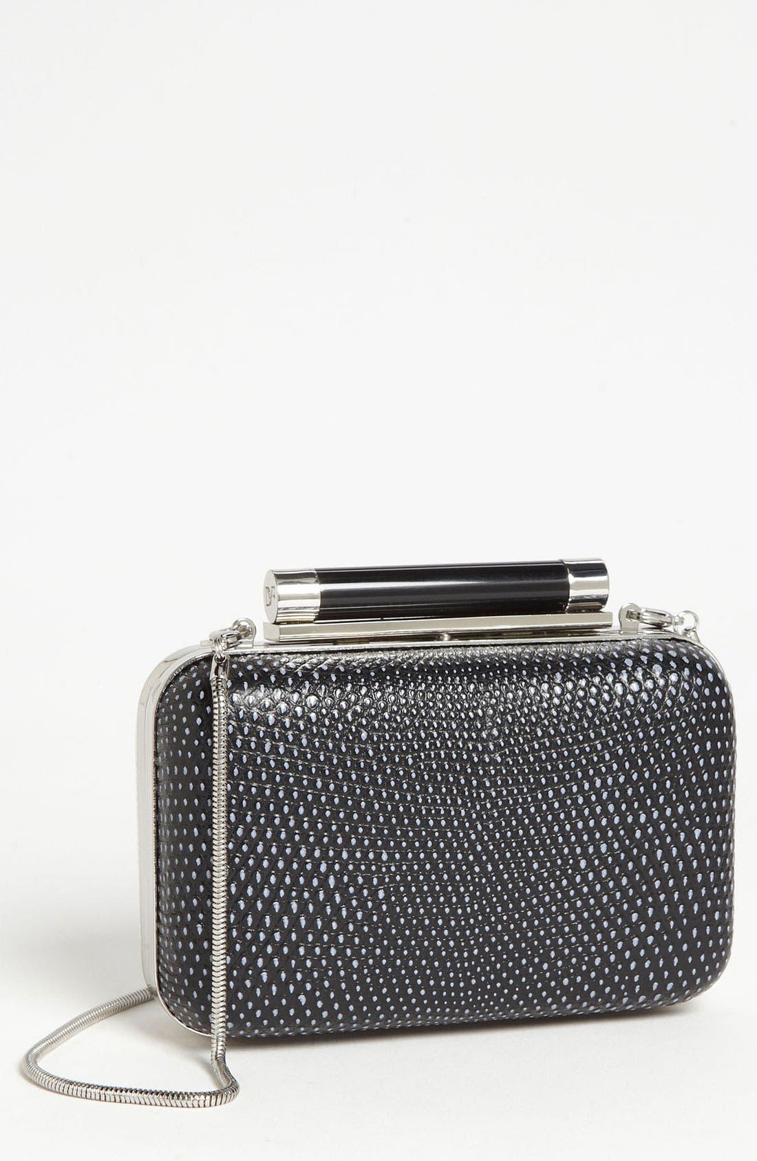 Main Image - Diane von Furstenberg 'Tonda - Small' Embossed Clutch