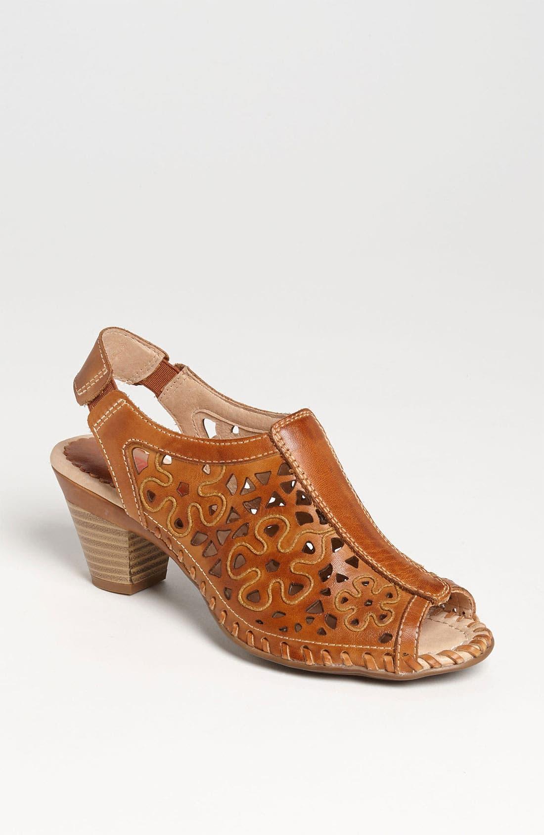 Main Image - PIKOLINOS 'Paris Flower' Slingback Sandal