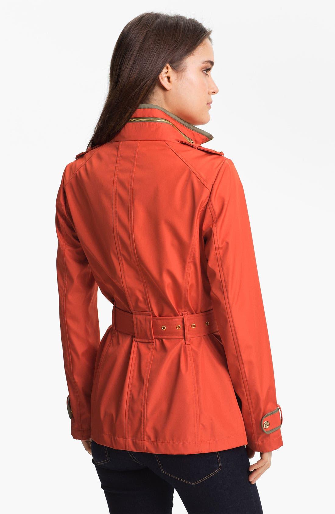 Alternate Image 2  - MICHAEL Michael Kors Zip Front Softshell Jacket
