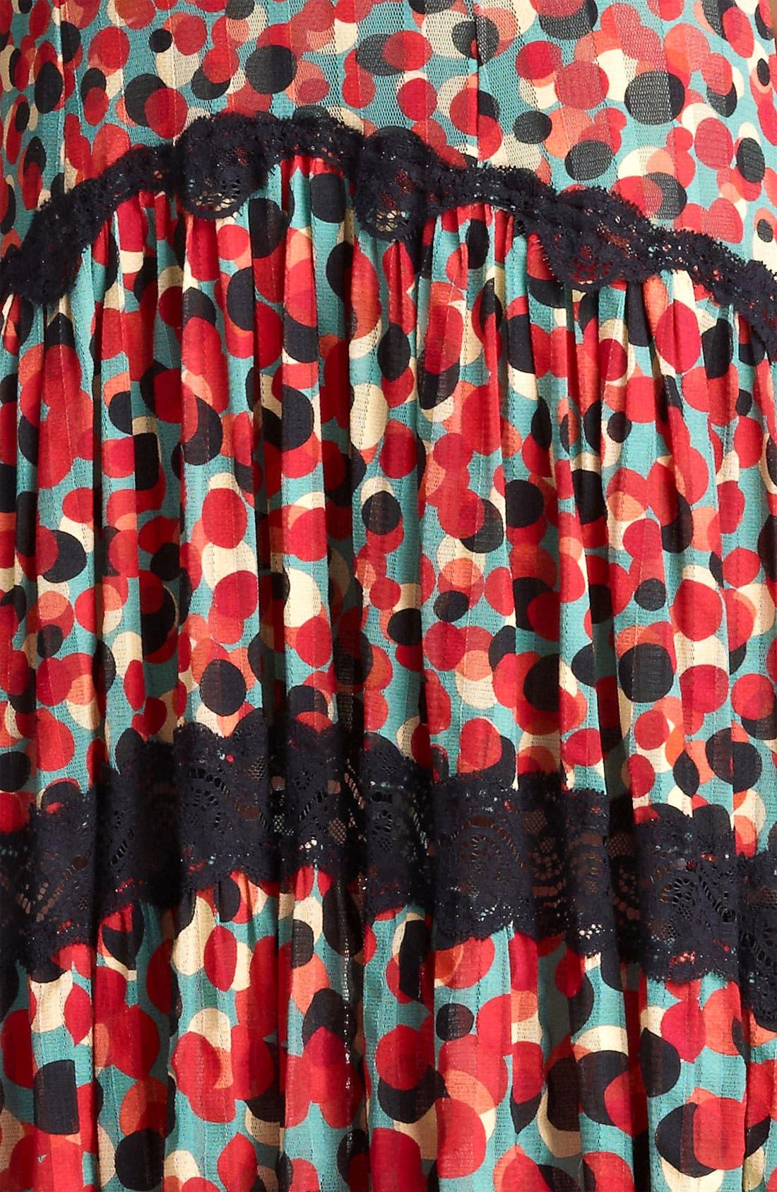 Alternate Image 3  - Jean Paul Gaultier Fuzzi Print Tulle Dress