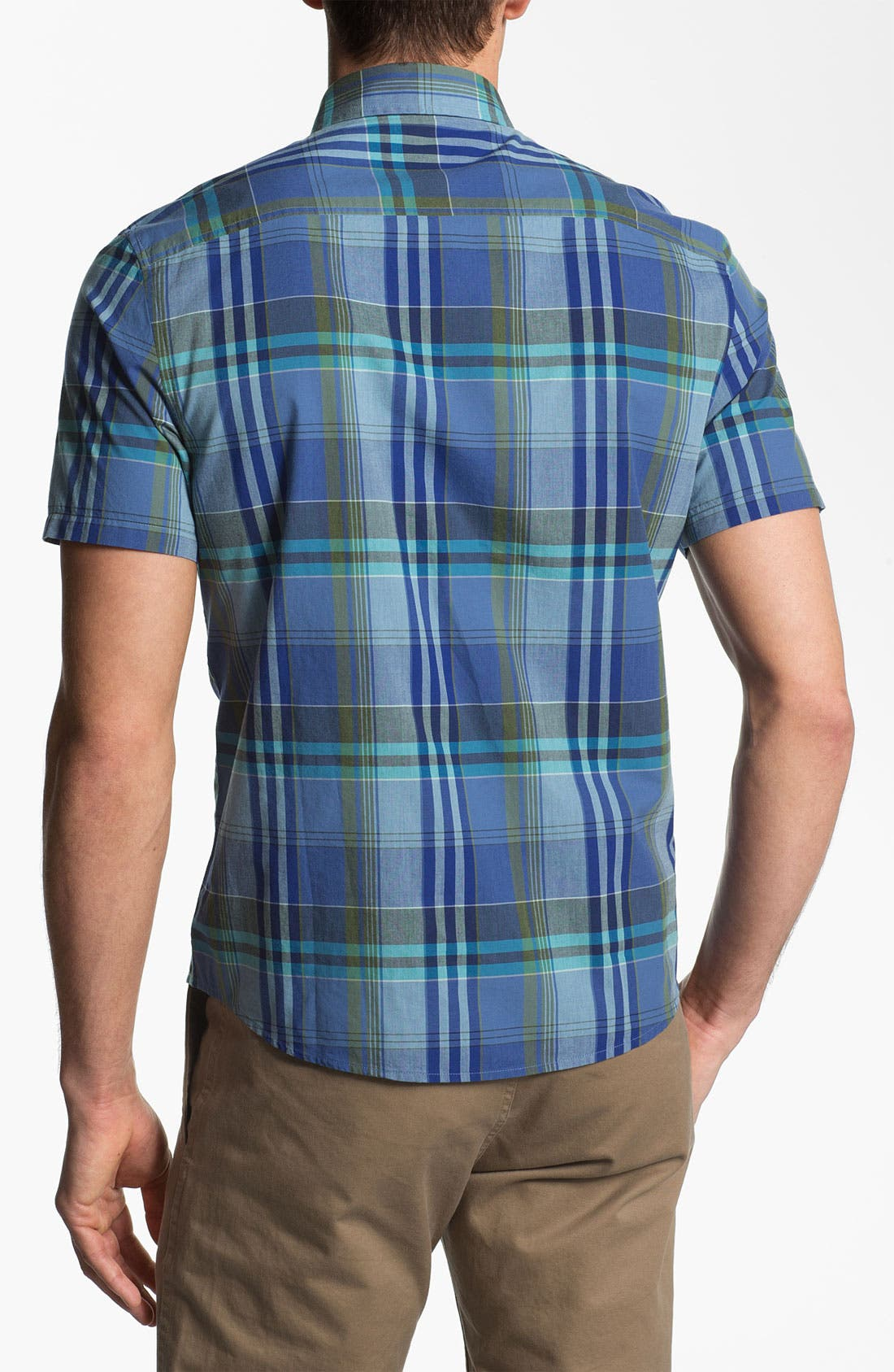 Alternate Image 2  - Original Penguin Plaid Woven Shirt