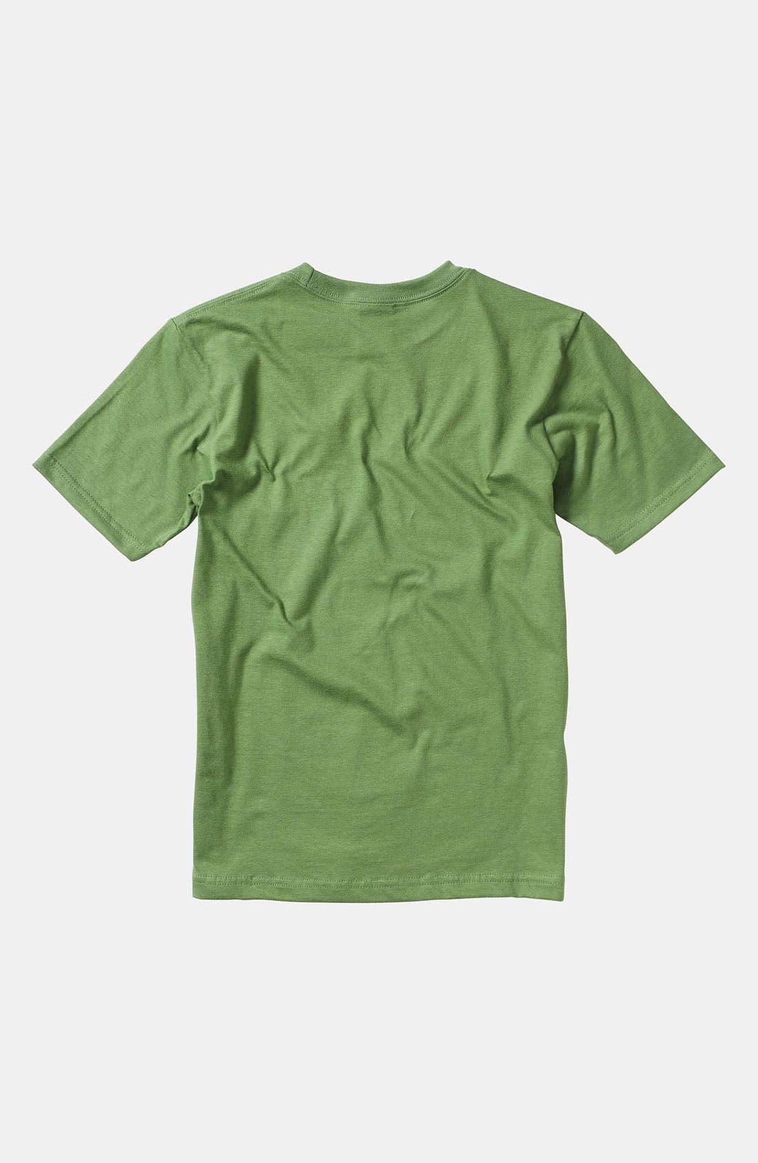 Alternate Image 2  - Quiksilver 'Dino Shred' T-Shirt (Little Boys)
