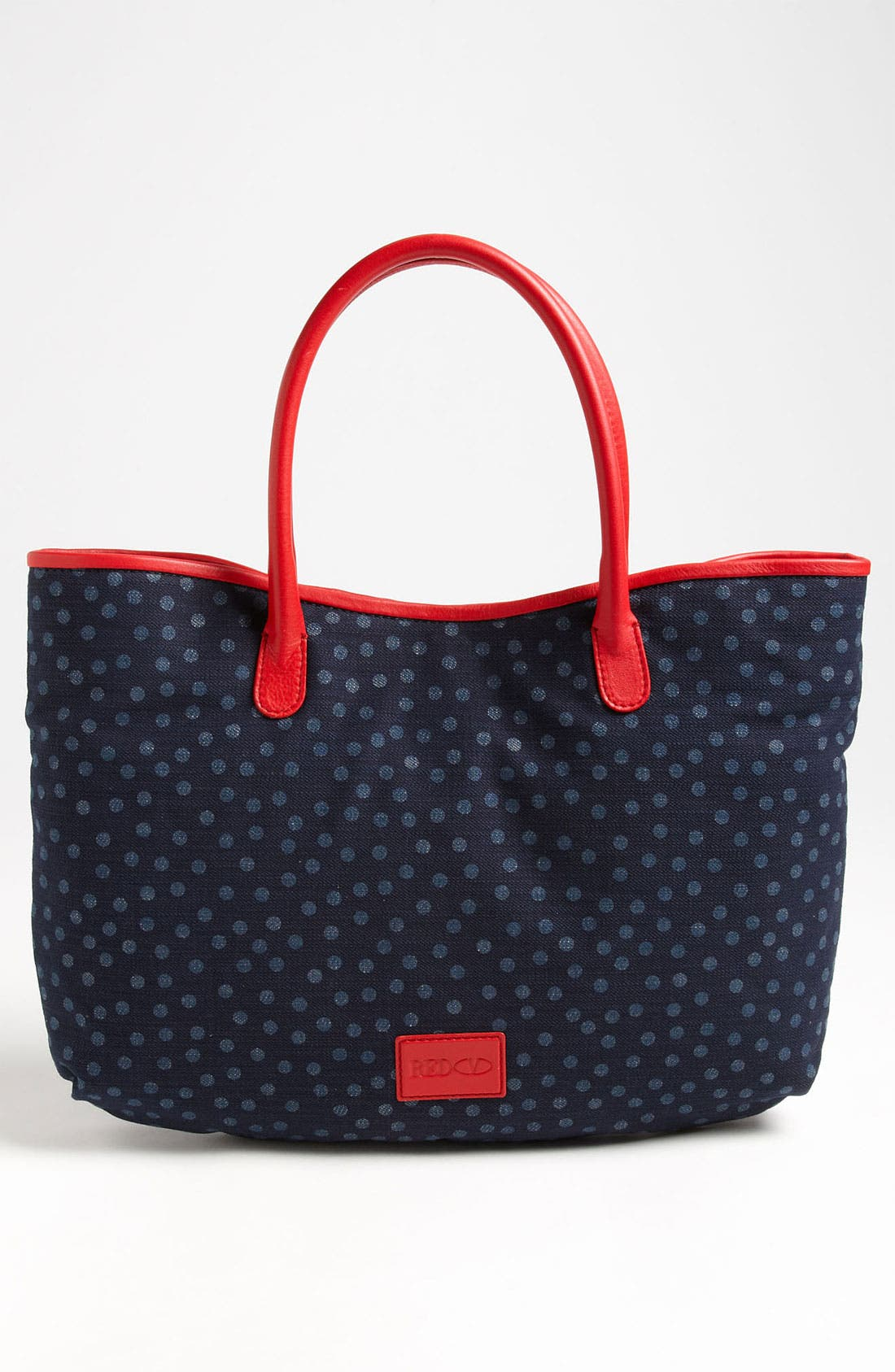 Alternate Image 4  - RED Valentino 'Bow' Denim Tote