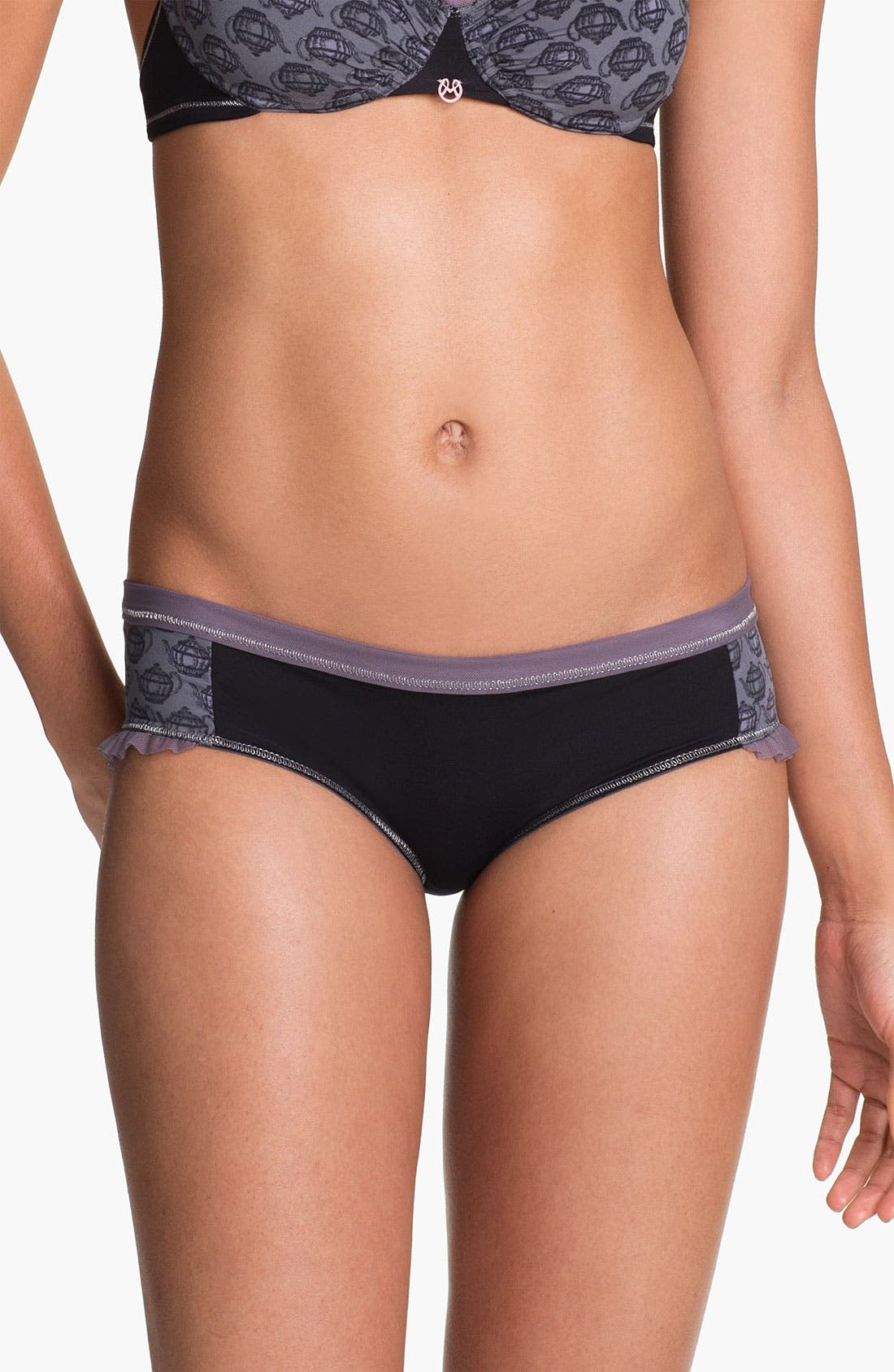 Main Image - Maaji 'Cranberry Tea Time' Hipster Briefs