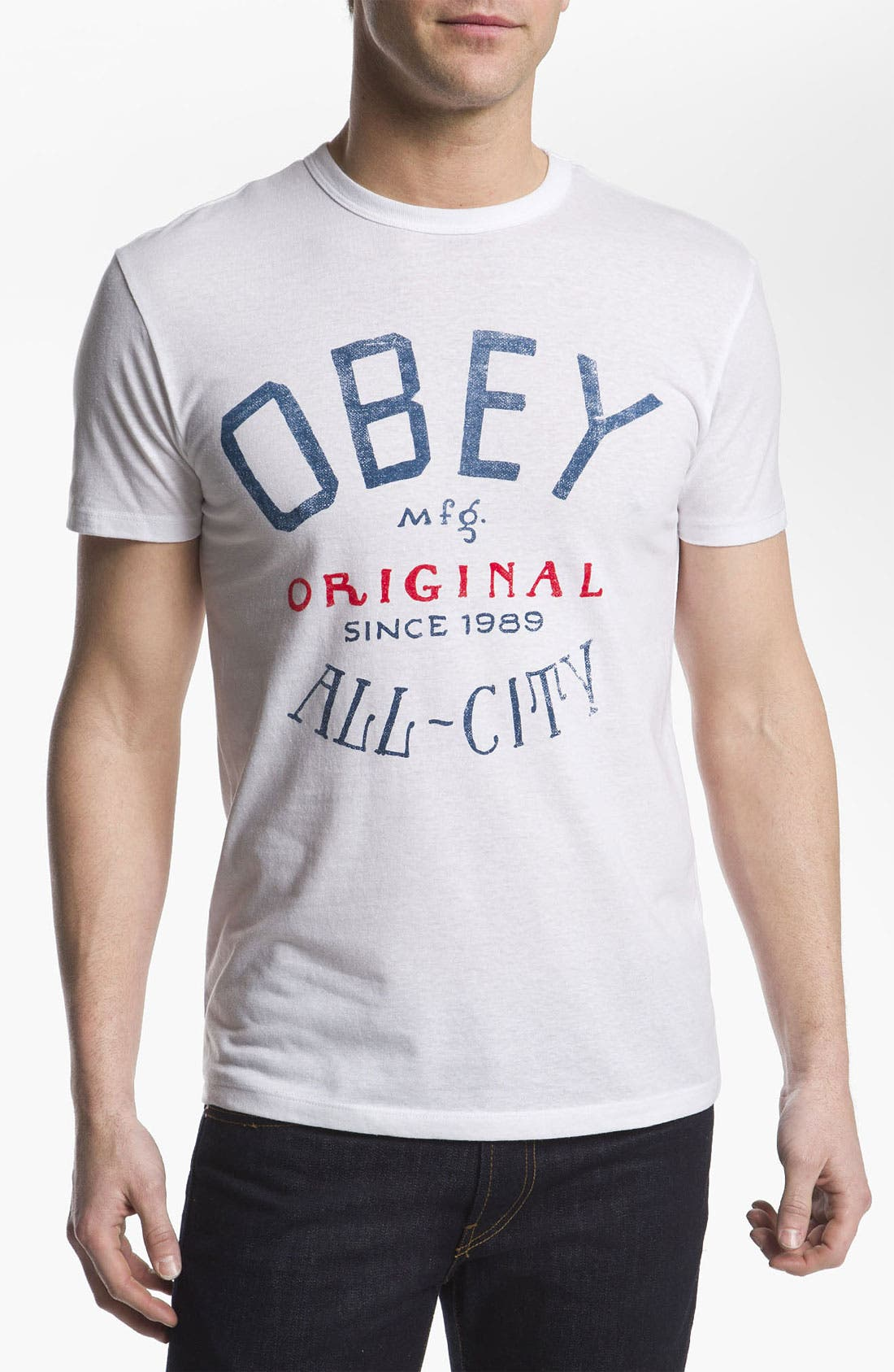 Alternate Image 1 Selected - Obey 'All City' T-Shirt
