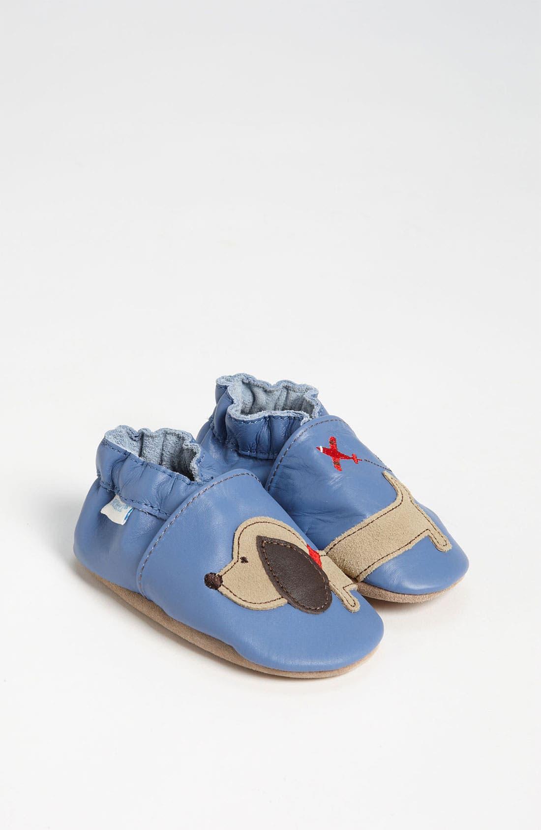 Main Image - Robeez® Dachshund Slip-On (Baby & Walker)