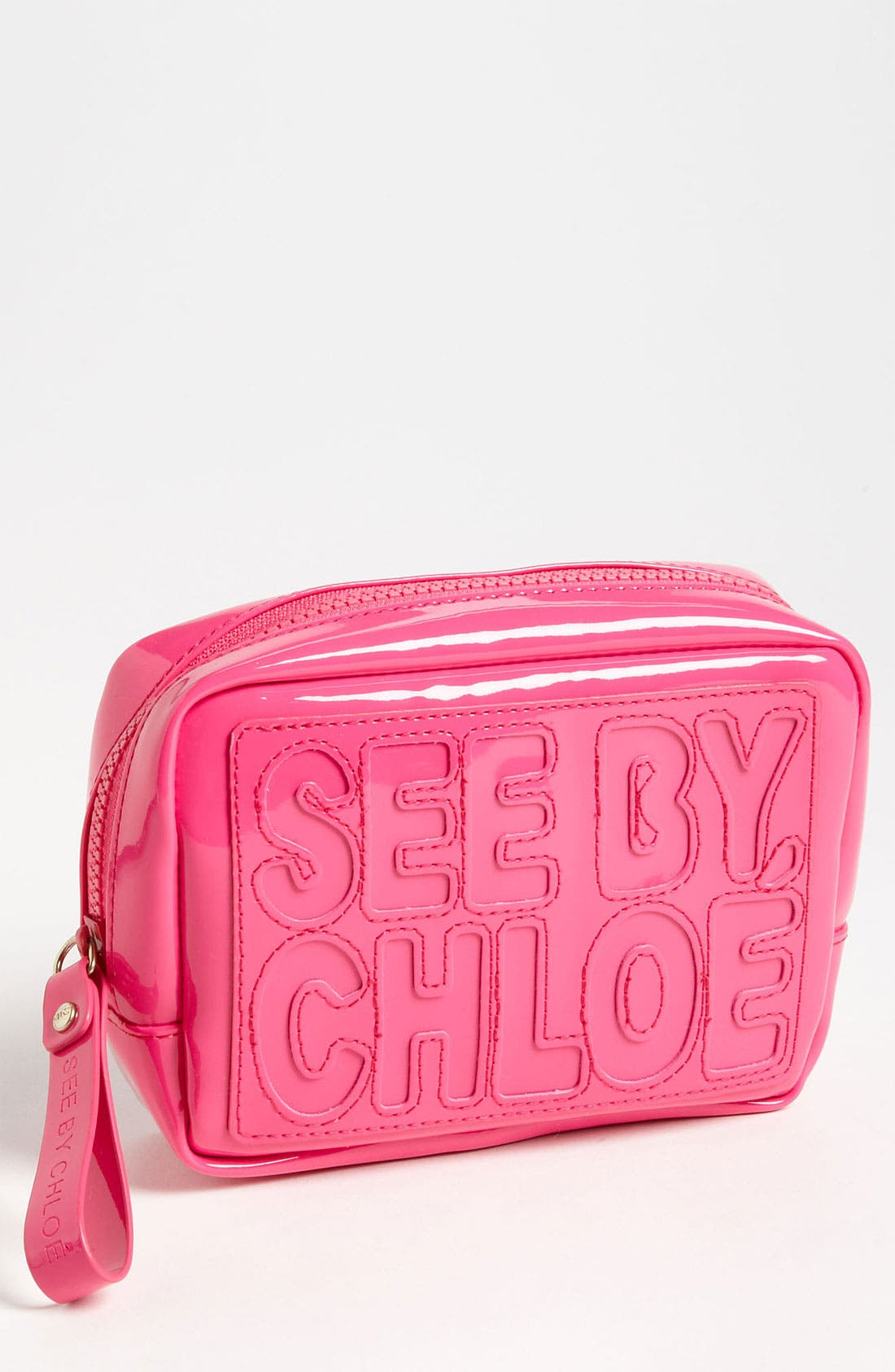 Alternate Image 1 Selected - See By Chloé 'Zip File' Zip Around Pouch