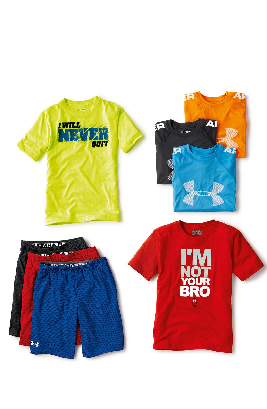 Alternate Image 4  - Under Armour Graphic T-Shirt (Big Boys)