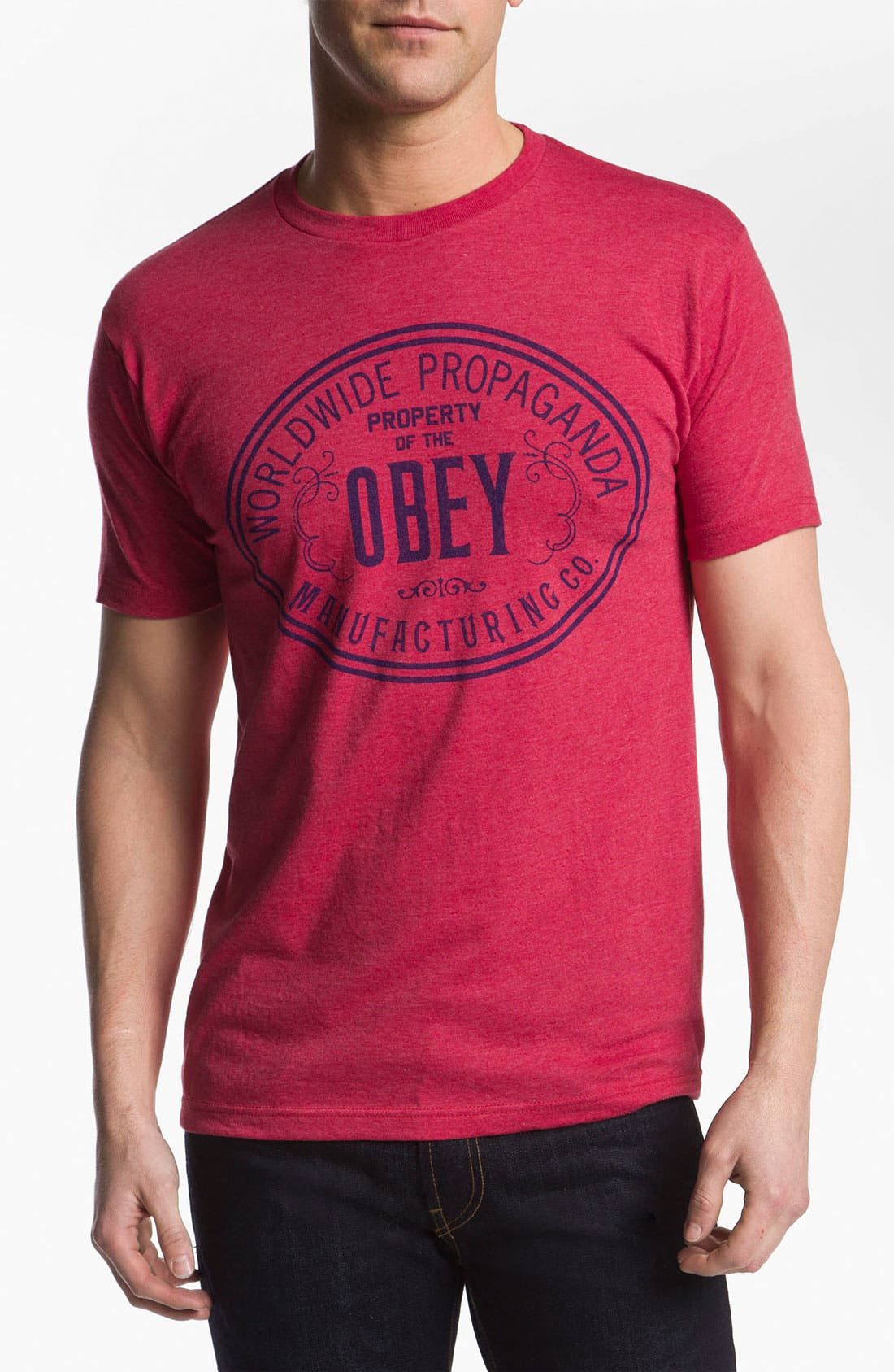 Alternate Image 1 Selected - Obey 'Property of Obey' T-Shirt
