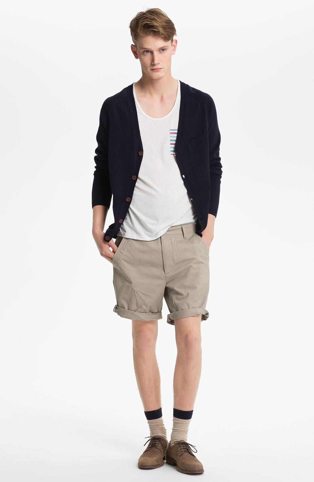 Alternate Image 1 Selected - Topman Cardigan, Tank Top & Shorts