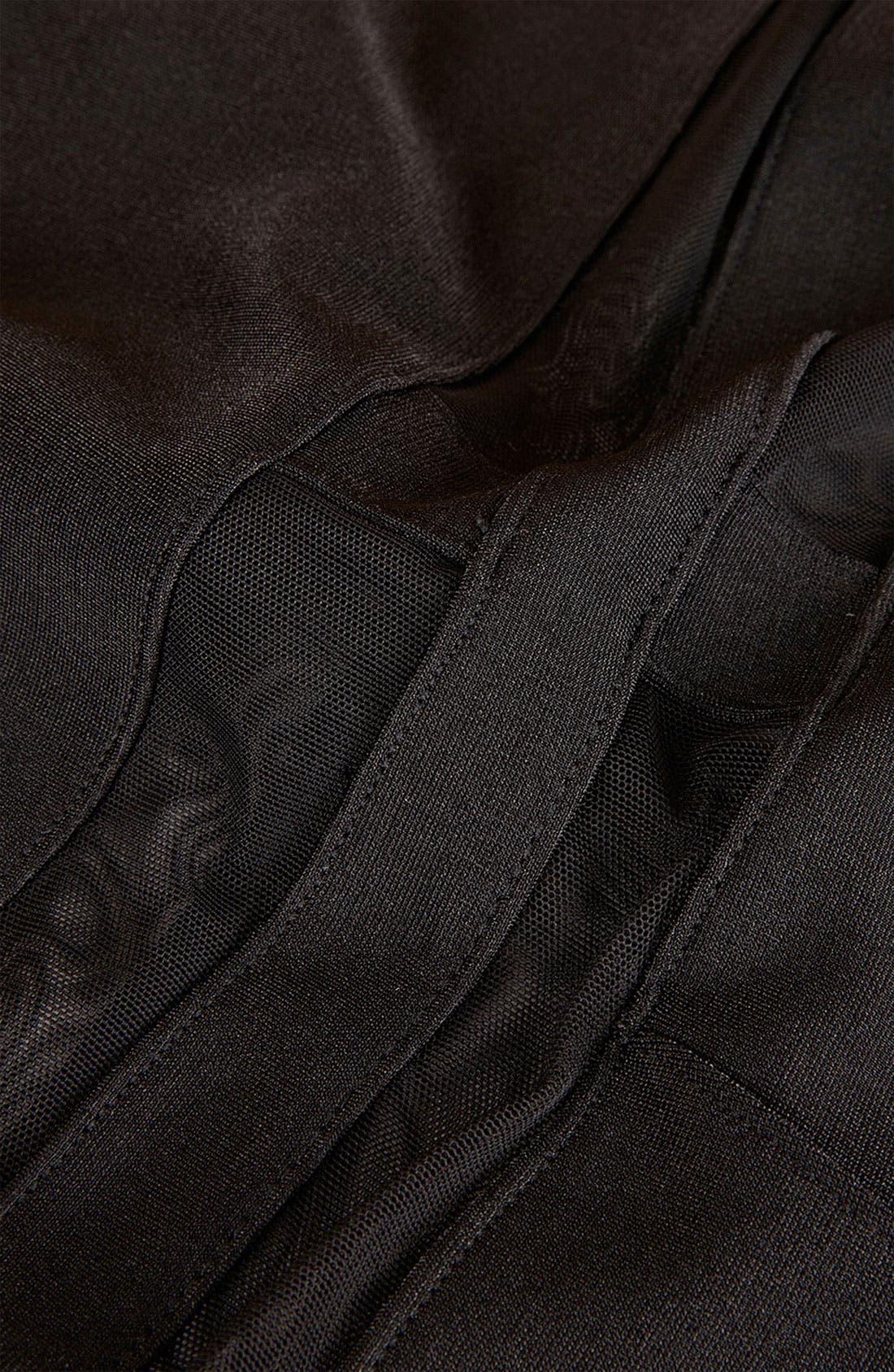 Alternate Image 4  - Topshop Mesh & Bandage Body-Con Dress